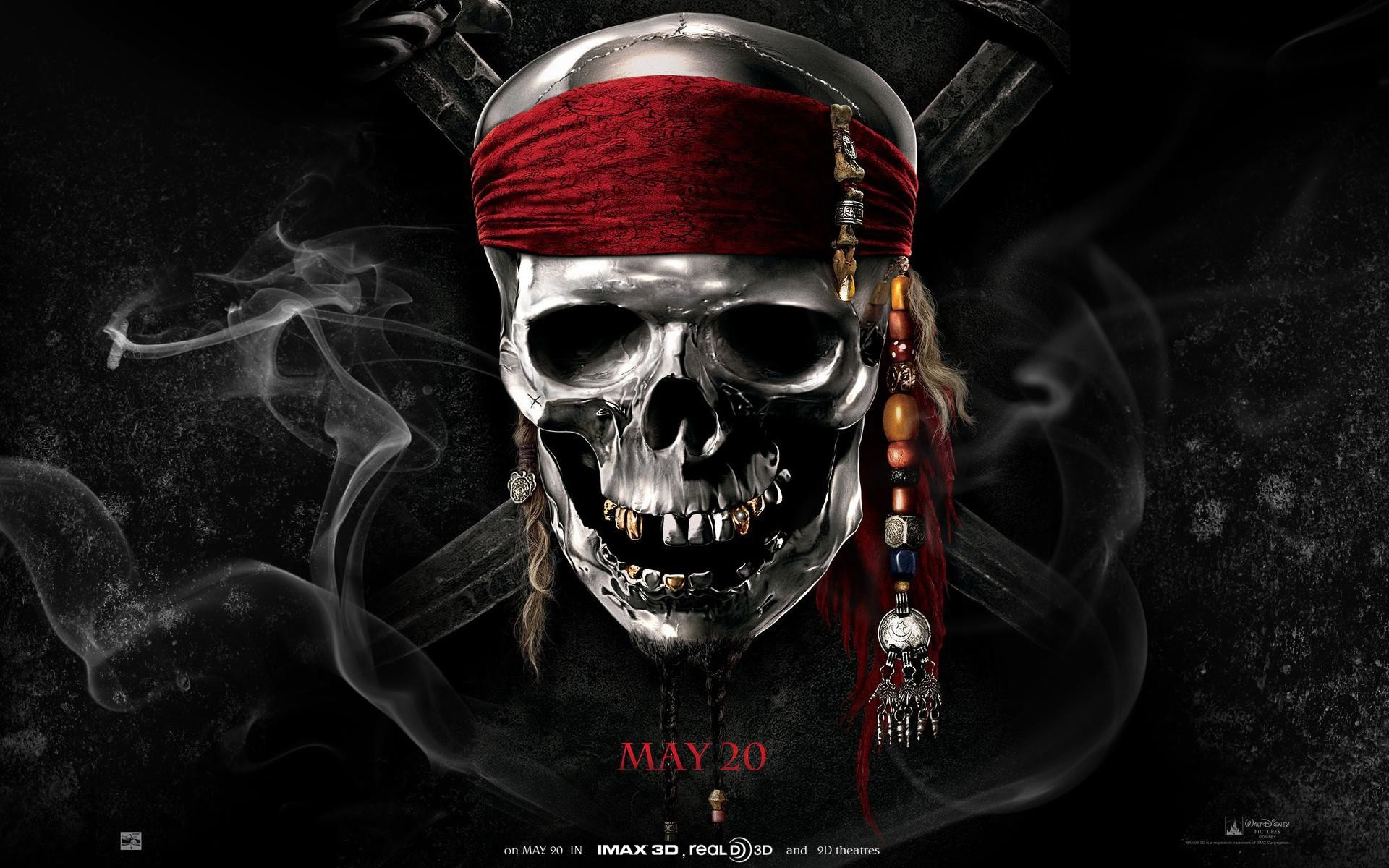 Pirates Caribbean Fantasy Dark Horror Skulls Photos