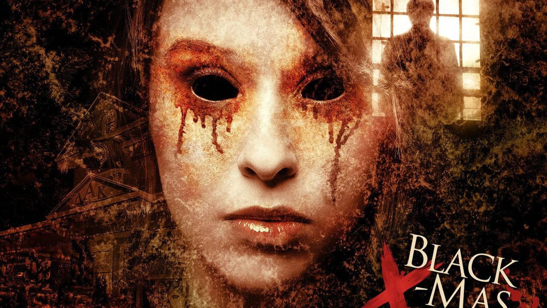 … Horror Wallpaper, Background Full HD 1080p. Wallpaper black  christmas, face, black, eyes, blood, dark, fear