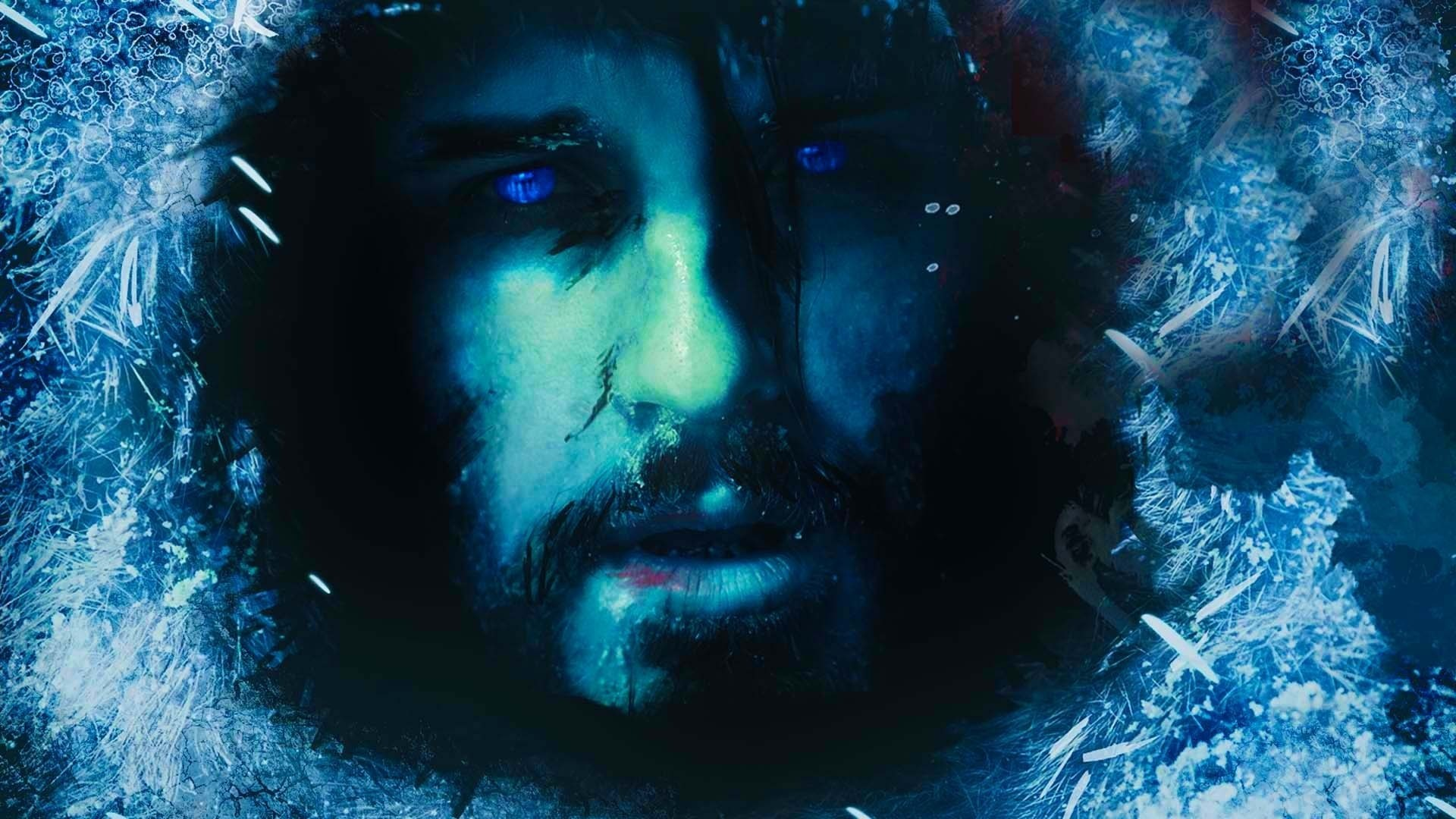 Full HD Wallpaper 30 days of night horror art frost blue .