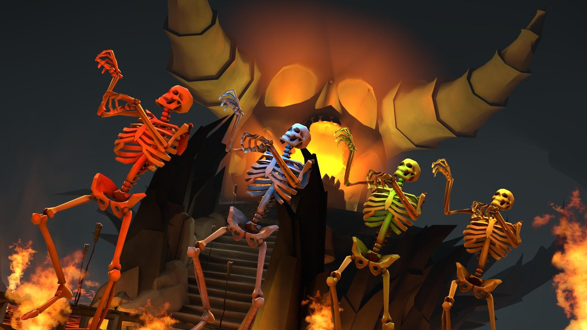 … Spooky Scary Skeletons. by RayDraca