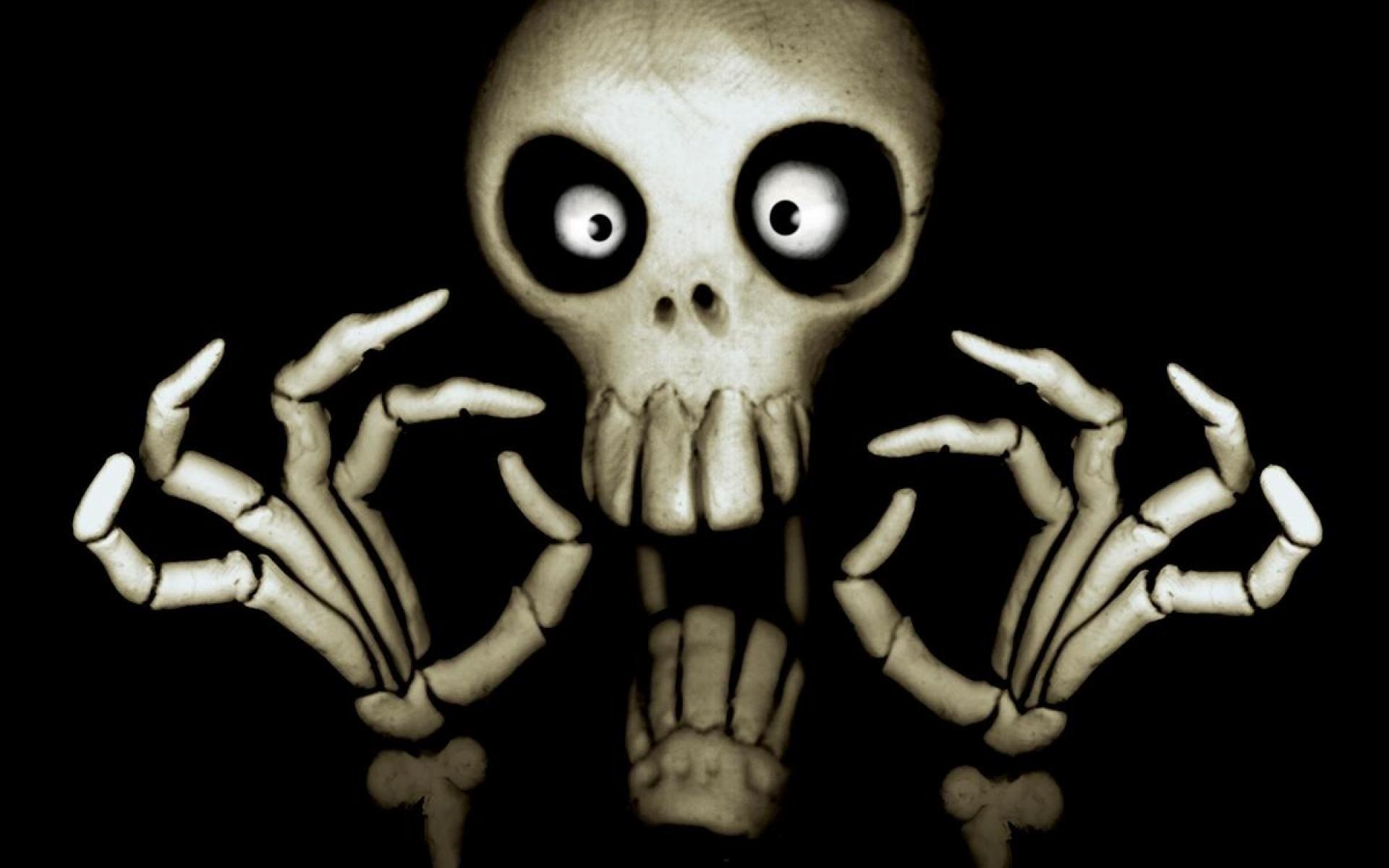 Scary Skull 539786