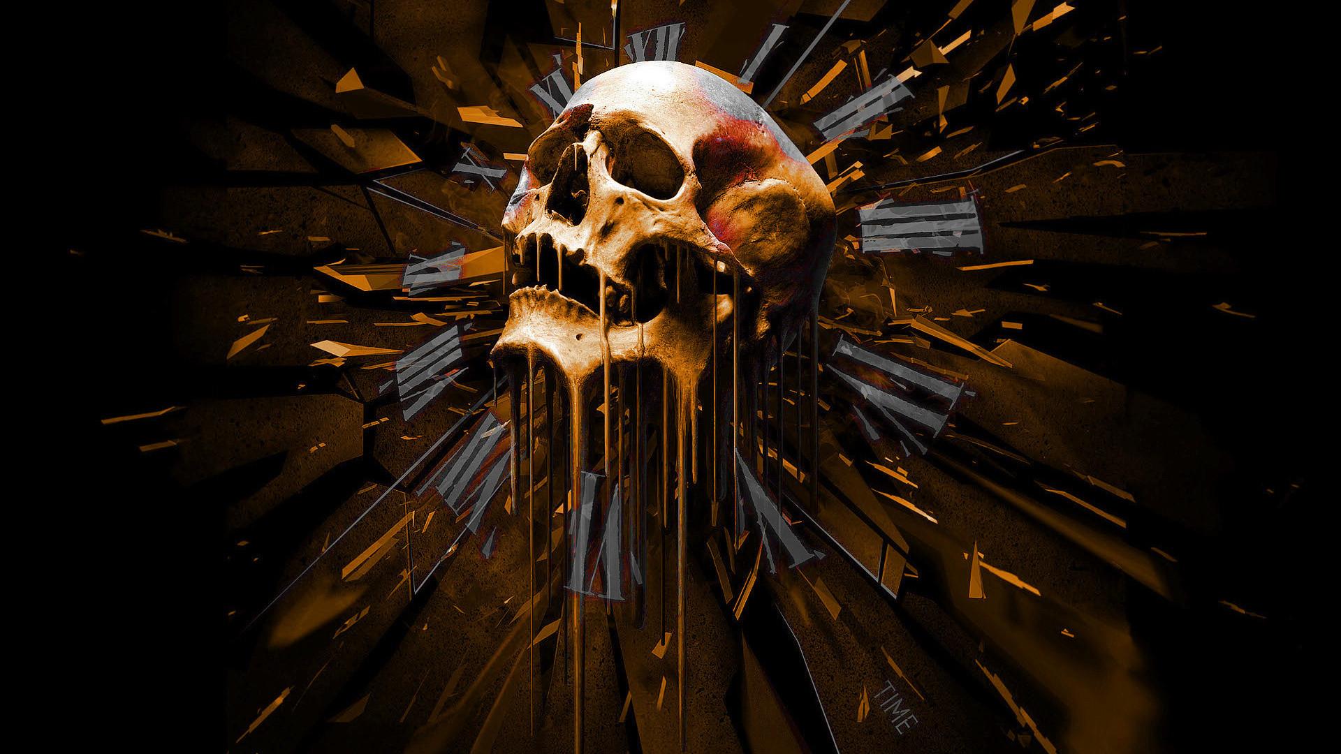 Dark Skull Wallpaper Dark, Skull