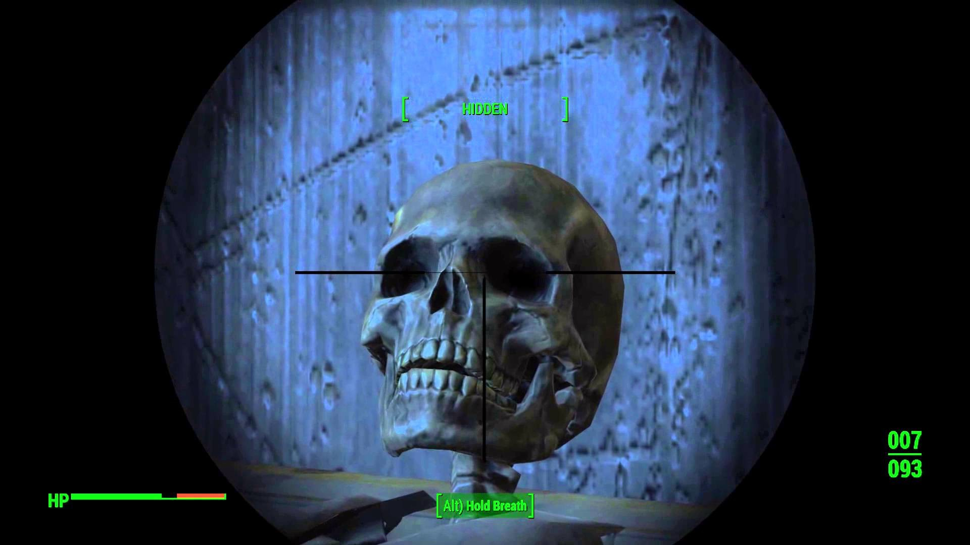 Fallout 4 spooky scary skeletons. Glitch? Idk
