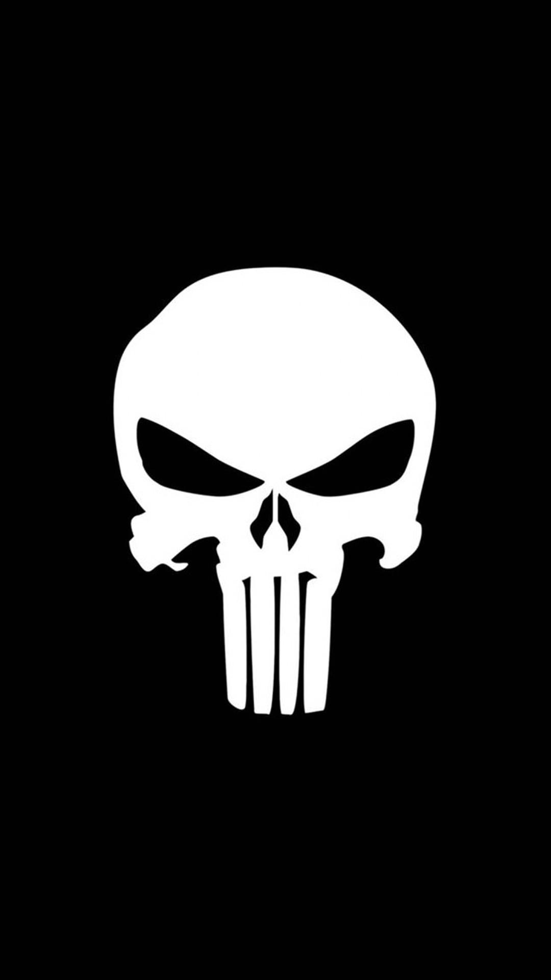 Hard Scary Skull Black Punisher Games Geeks