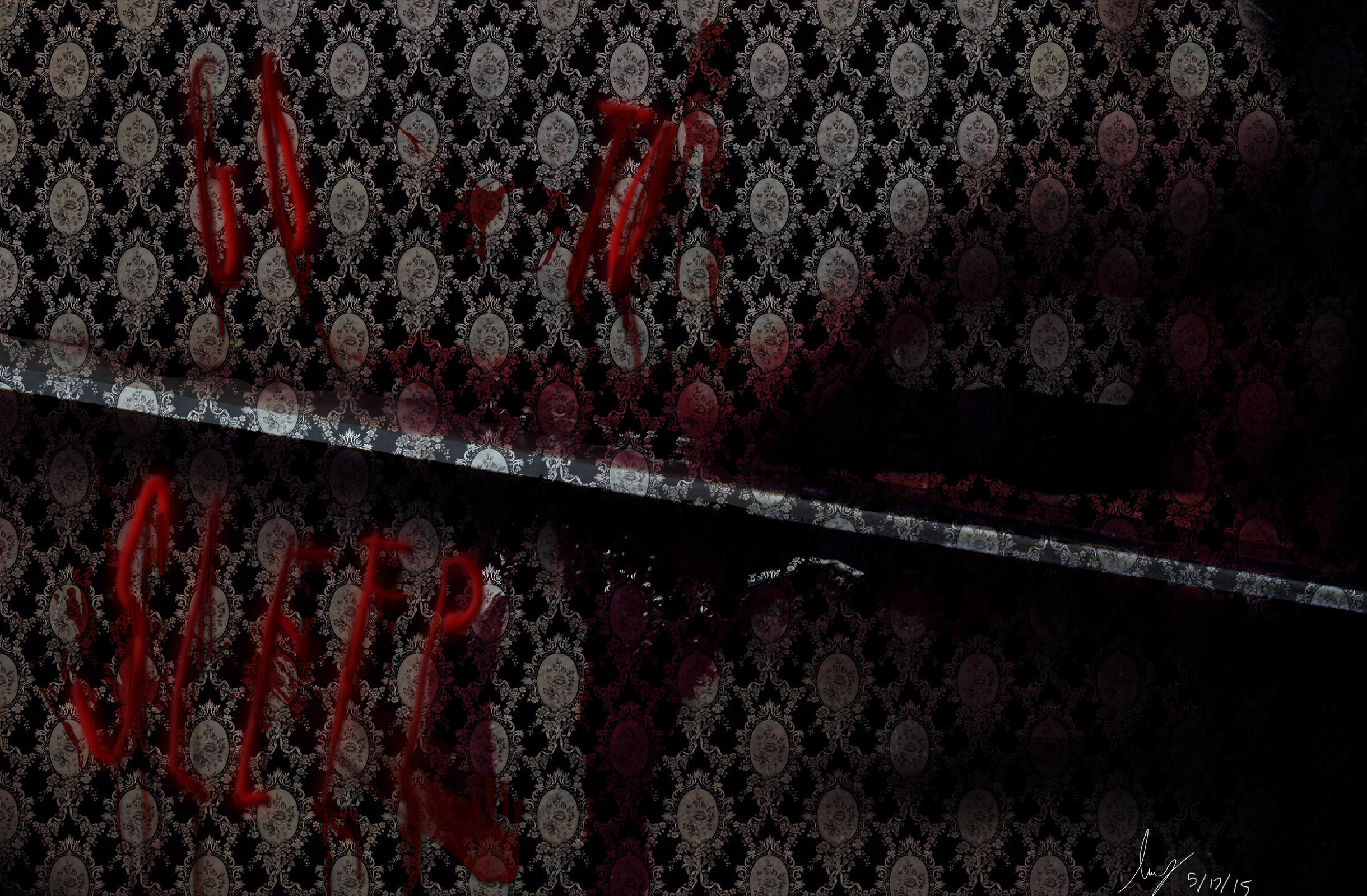 … Go to sleep Jeff the Killer wallpaper by IvyDarkRose