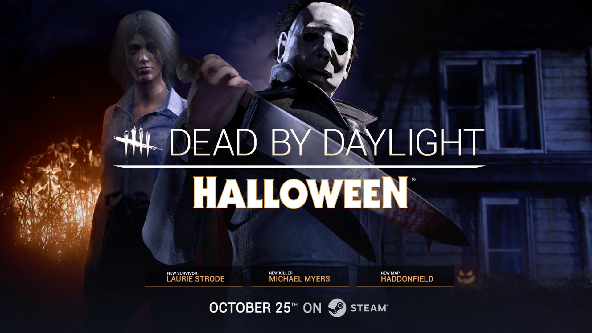 Dead by Daylight's Halloween update goes live today