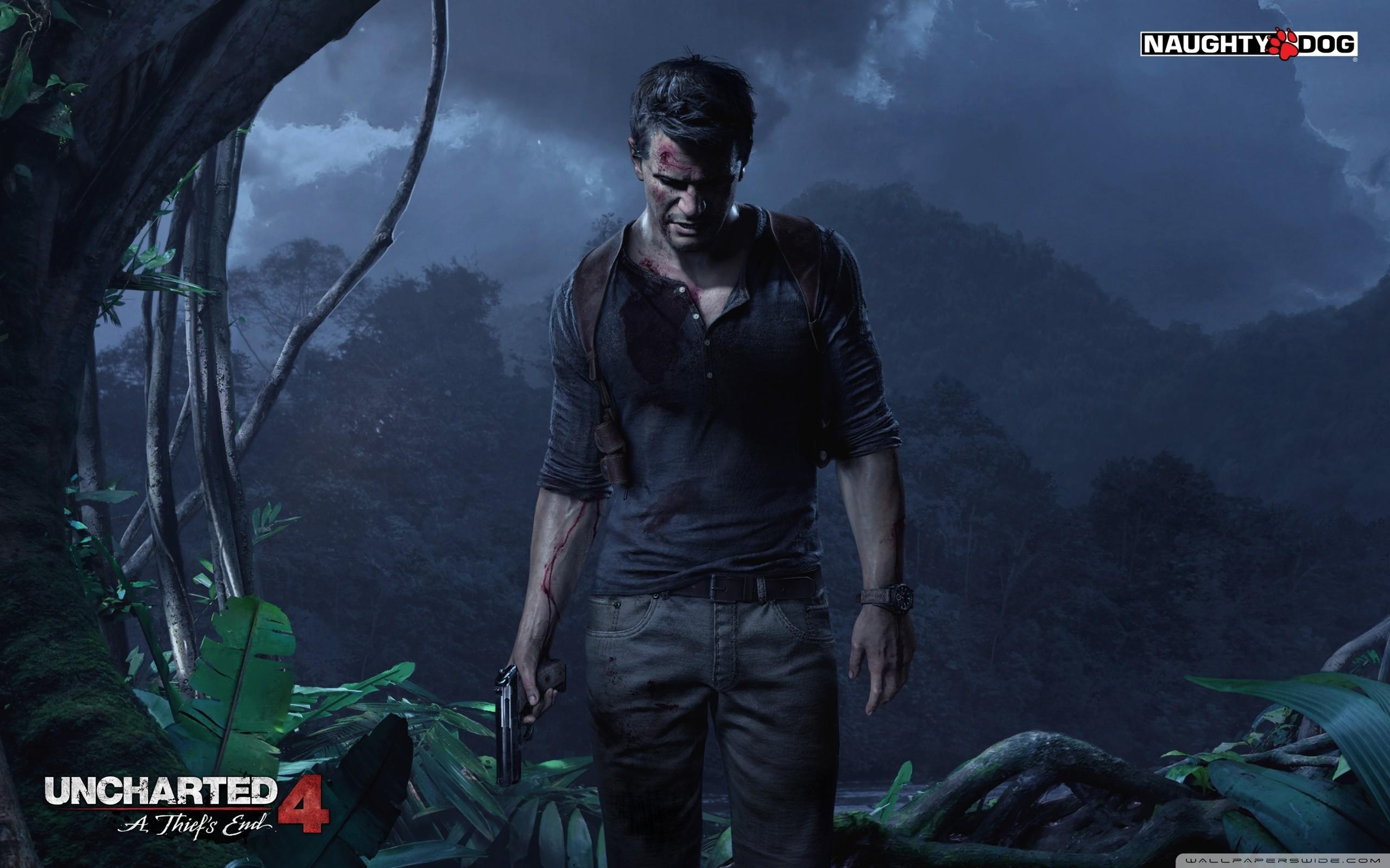 Uncharted 4 A Thief's End Hd Desktop Wallpaper : Widescreen :