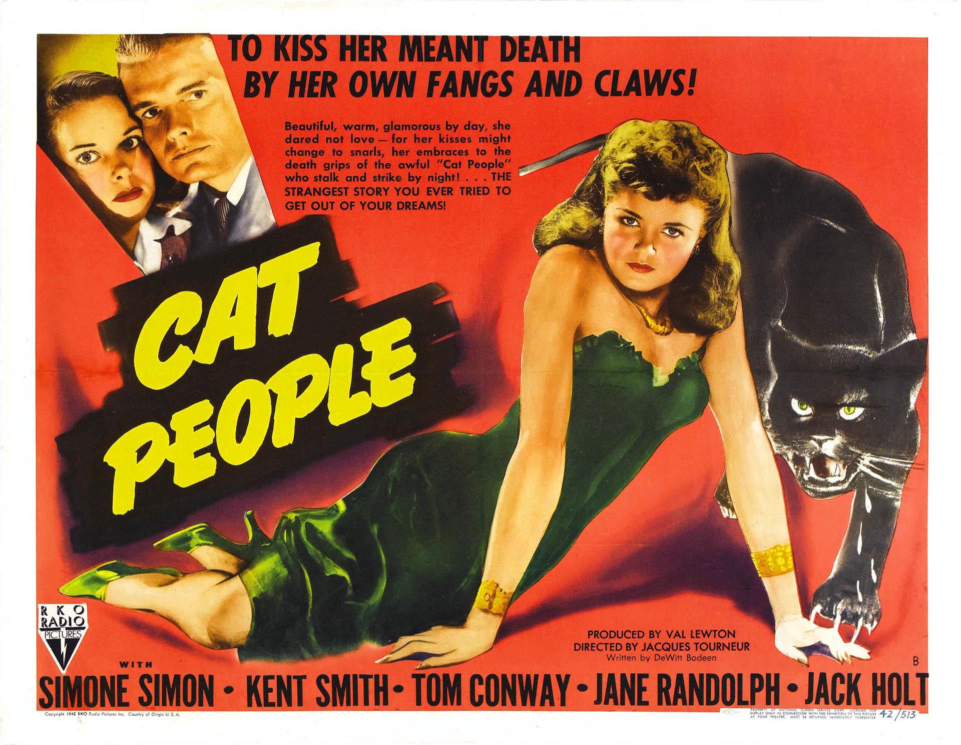 1940 Movie Posters | Cat People Ii – Vintage 1940s Movie Posters Wallpaper  Image