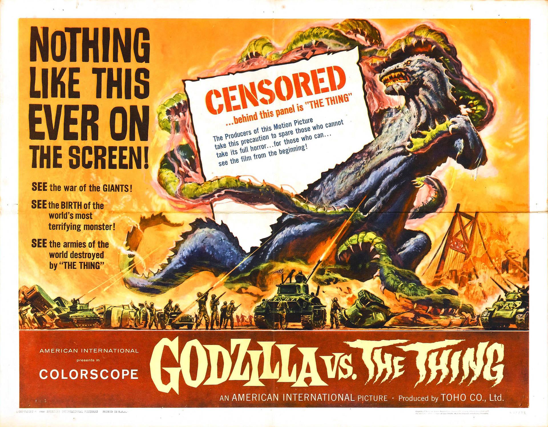 Mothra Vs Godzilla – Monster B Movie Posters Wallpaper Image. Classic Movie  PostersHorror …