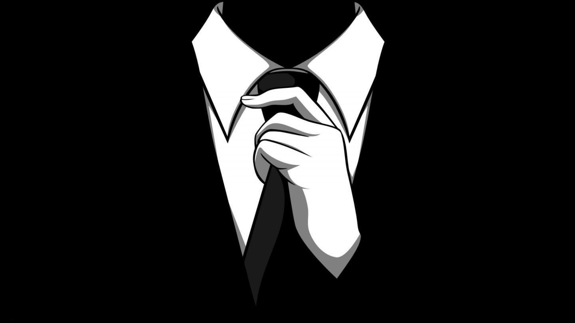 abstract anonymous dark gloves scary noir tie men barney stinson  wallpaper Wallpaper HD