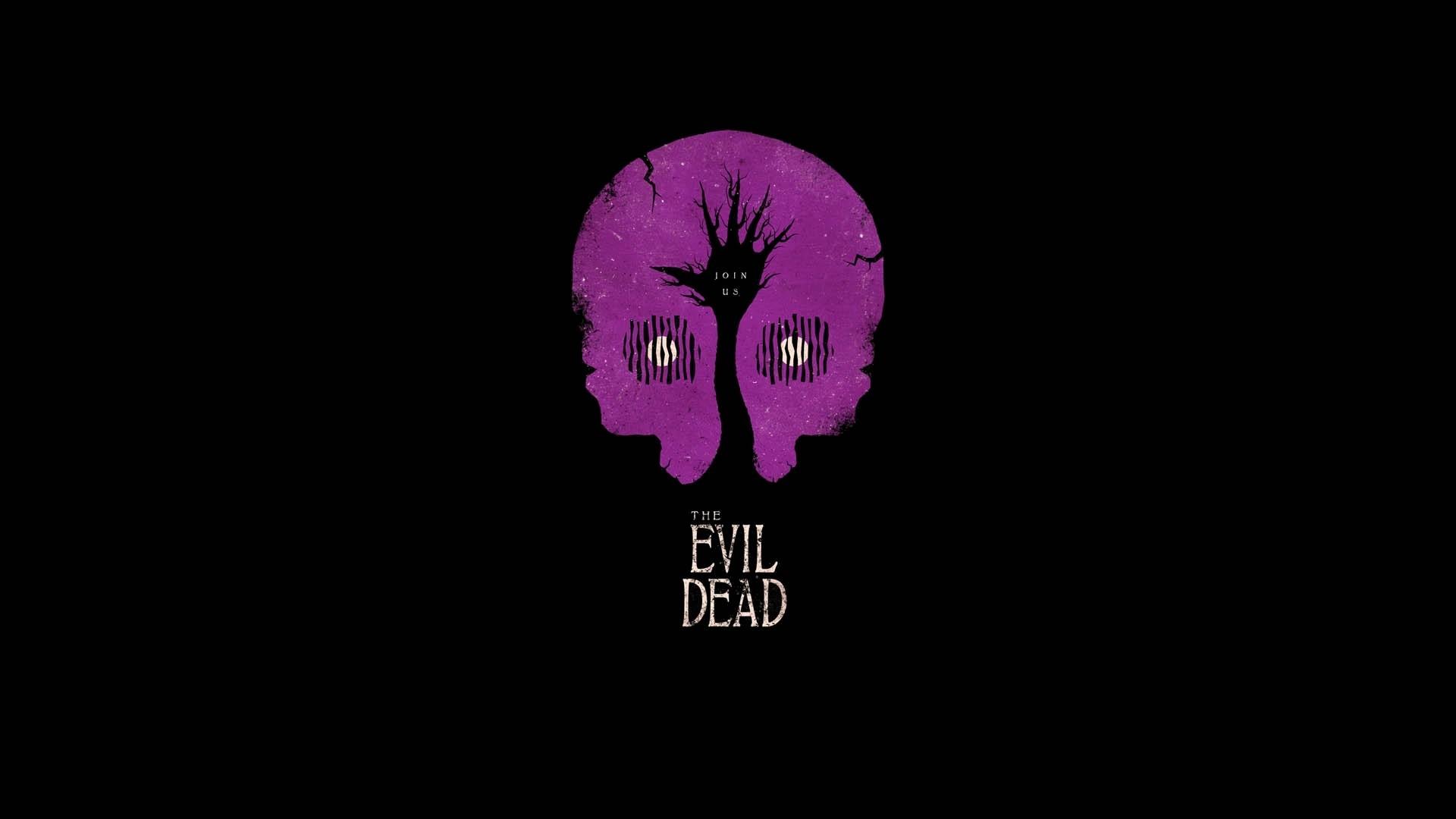 Evil Dead, Minimalism, Artwork, Movies, Black, Simple Wallpapers HD /  Desktop and Mobile Backgrounds
