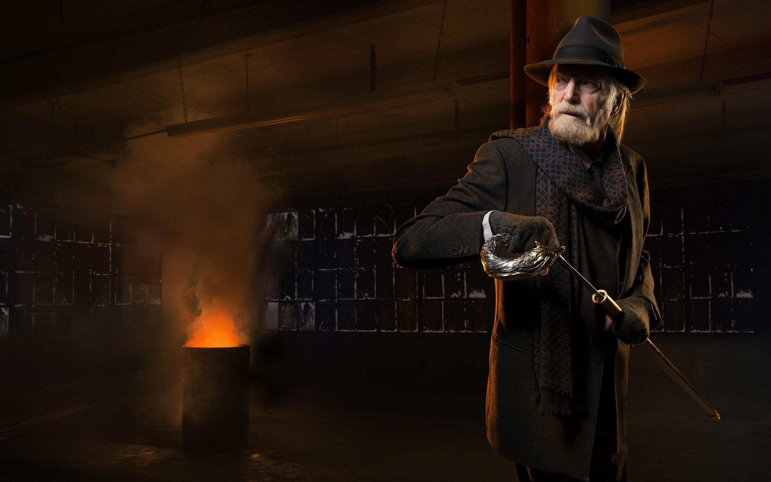 the Strain_00b-Season 2-David Bradley as Abraham Setrakian