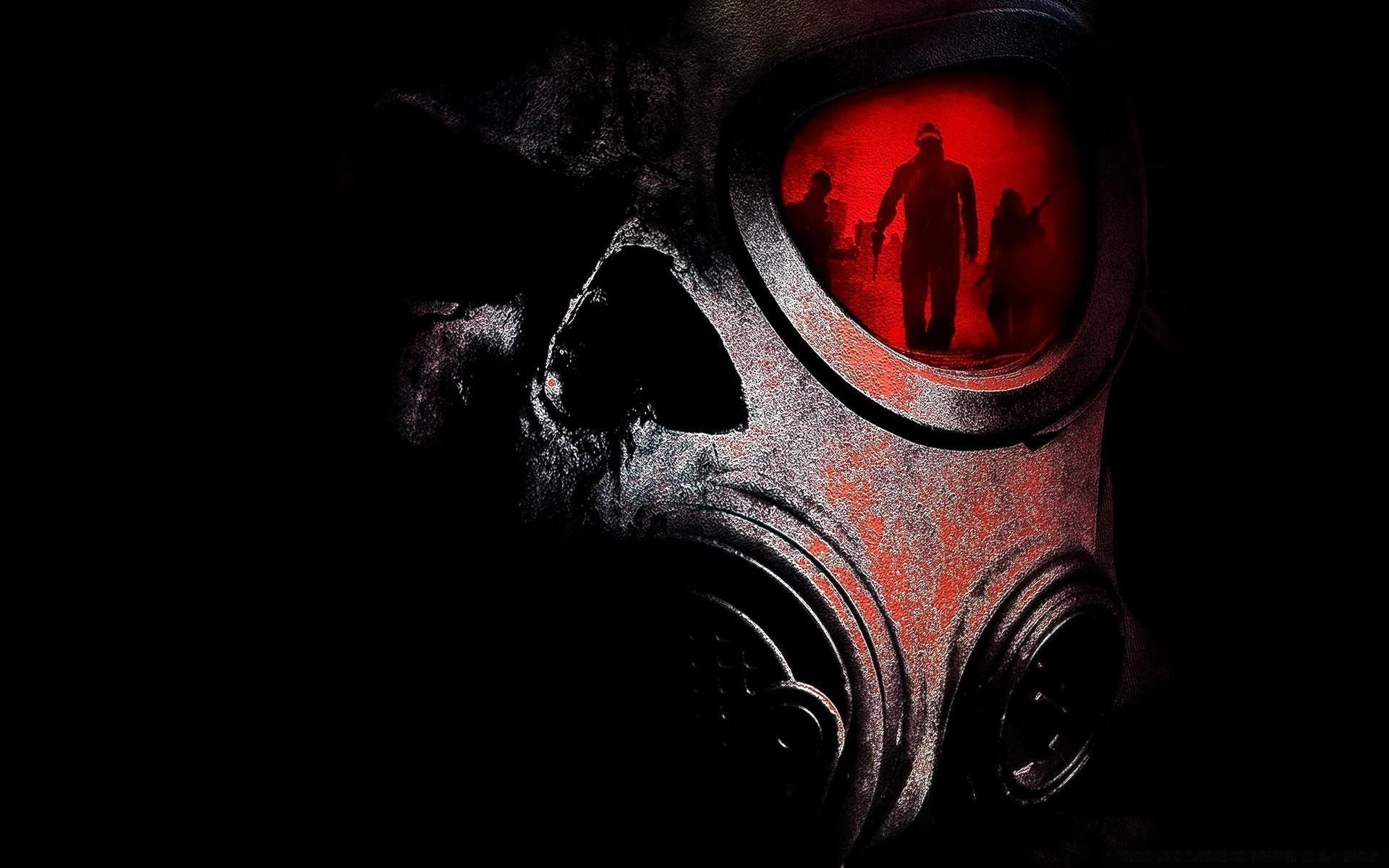 infantry horror dark face scary halloween vicious art skittish fear desktop  danger monster creepy smoke ghost