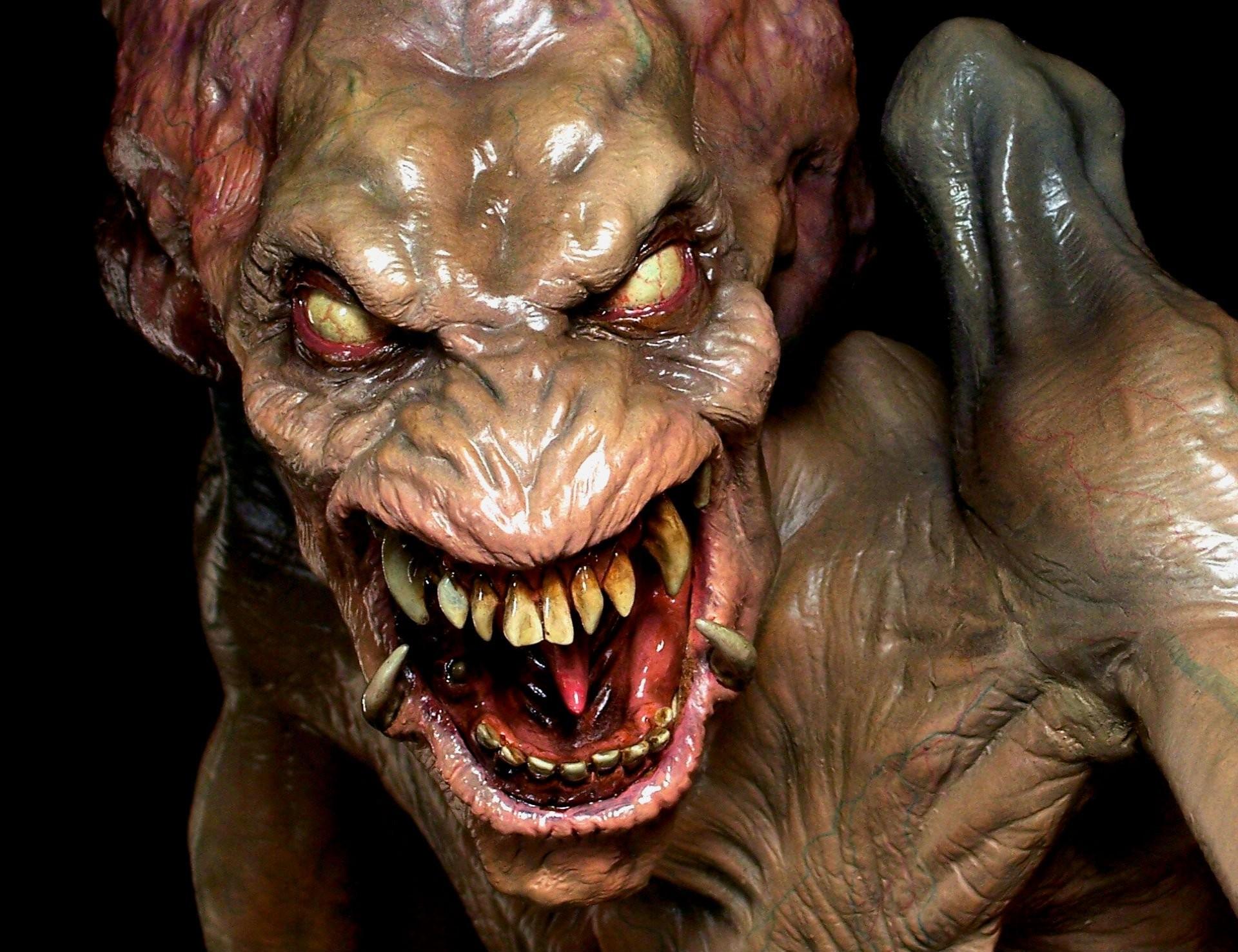 monsters of halloween   PUMPKINHEAD horror movie film dark monster  halloween wallpaper .