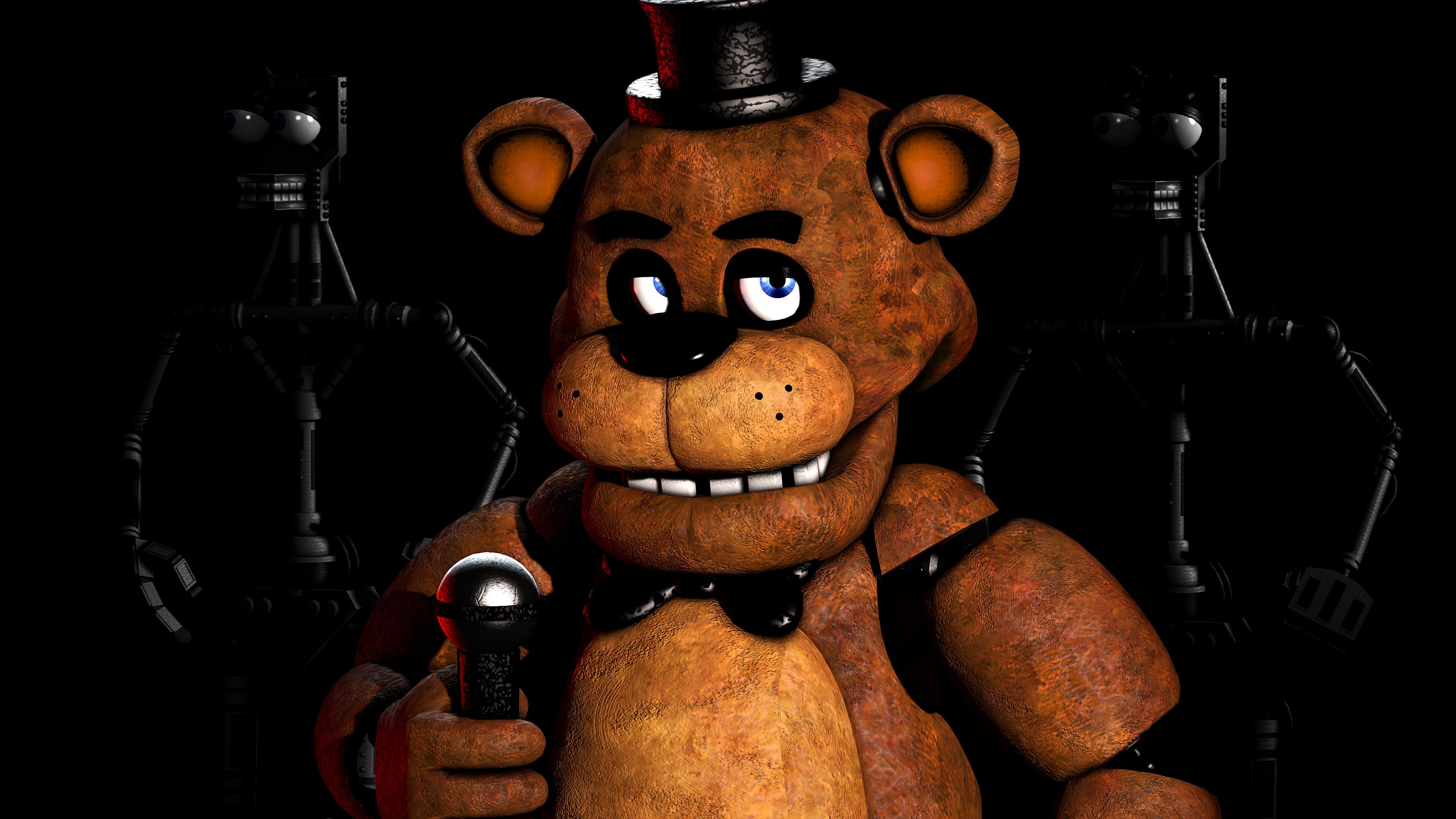 [SFM 4k] FNAF 1 Freddy Poster by EvilDoctorRealm on DeviantArt