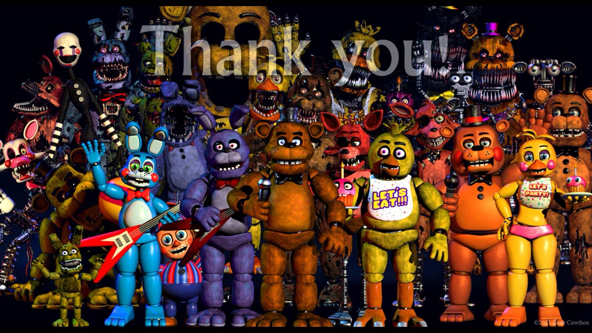 """In early August, Scott put up a """"Thank you!"""" Image on his website."""