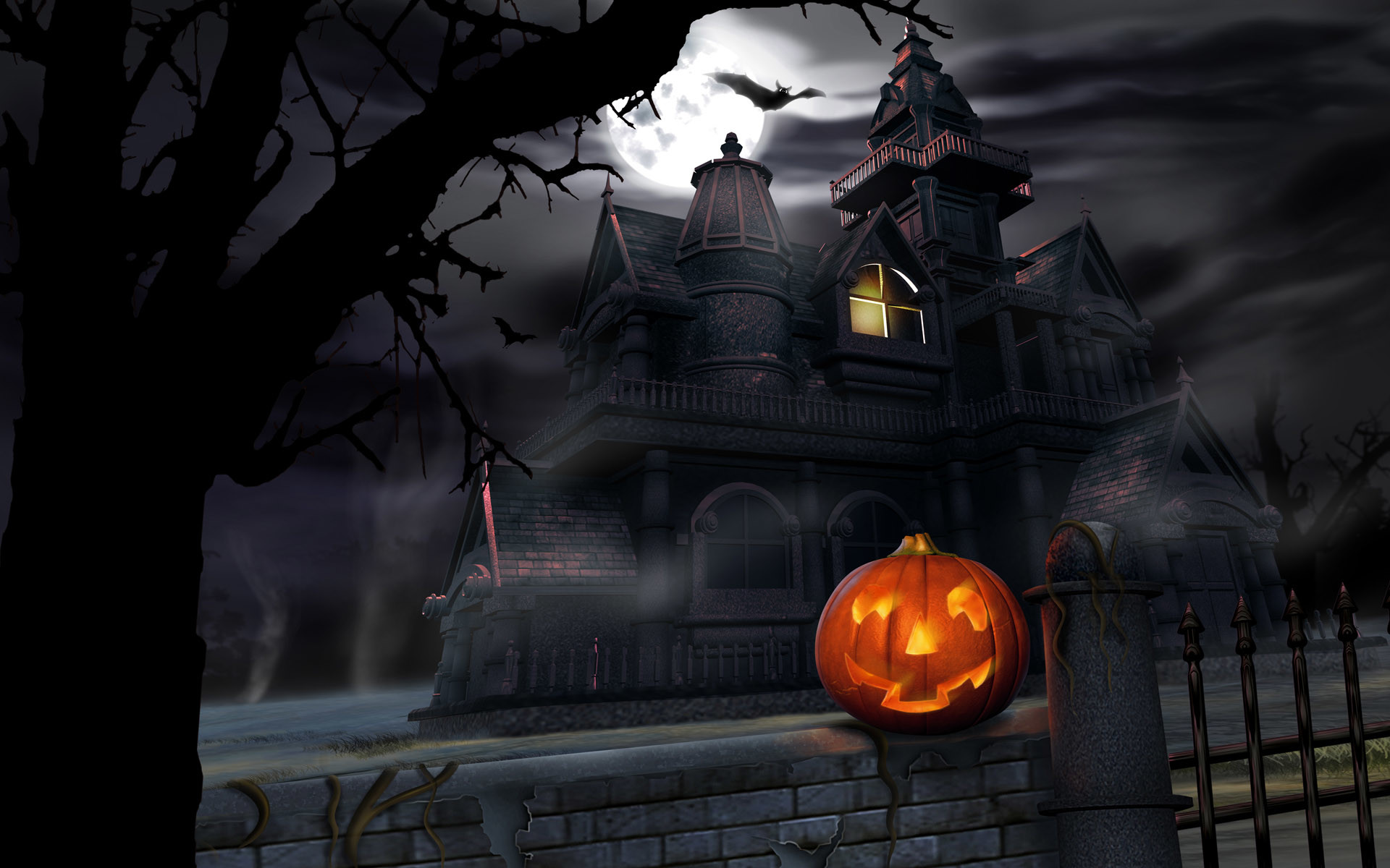 Scary-Halloween-2012-Pumpkin-HD-Wallpaper-2