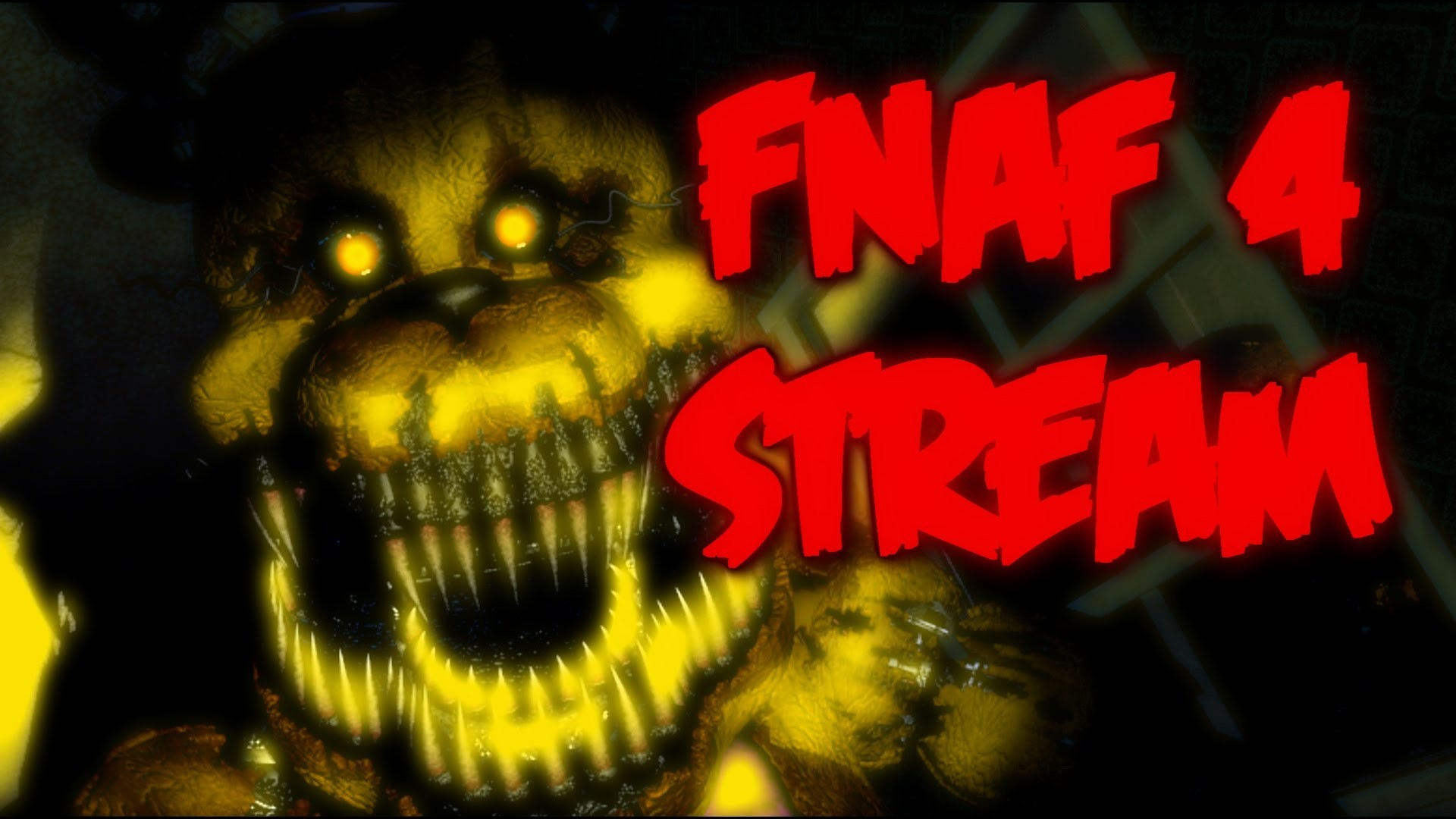 FNAF 4 HALLOWEEN LIVESTREAM! | Five Nights at Freddy's 4 Announcement
