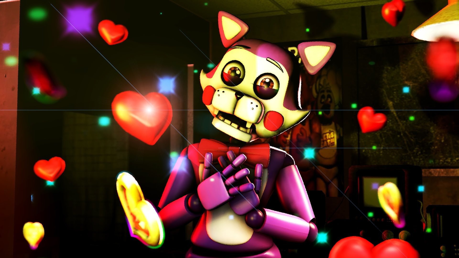 SFM /FNAF FNAC CINDY JUMP LOVE FIVE NIGHTS AT CANDY'S ANIMATION – YouTube