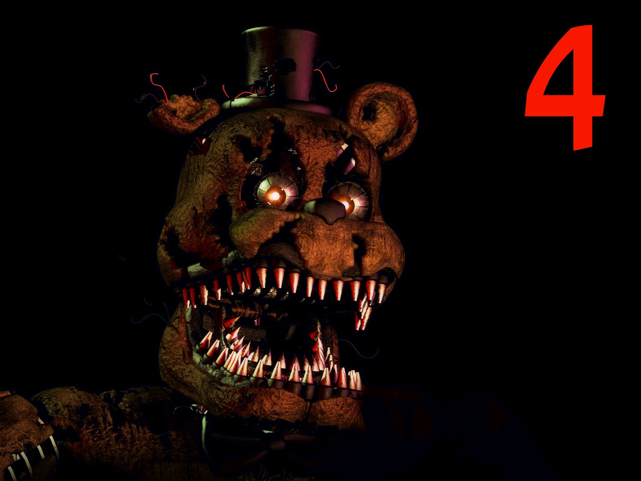 FNAF 4 IOS IS OUT!!