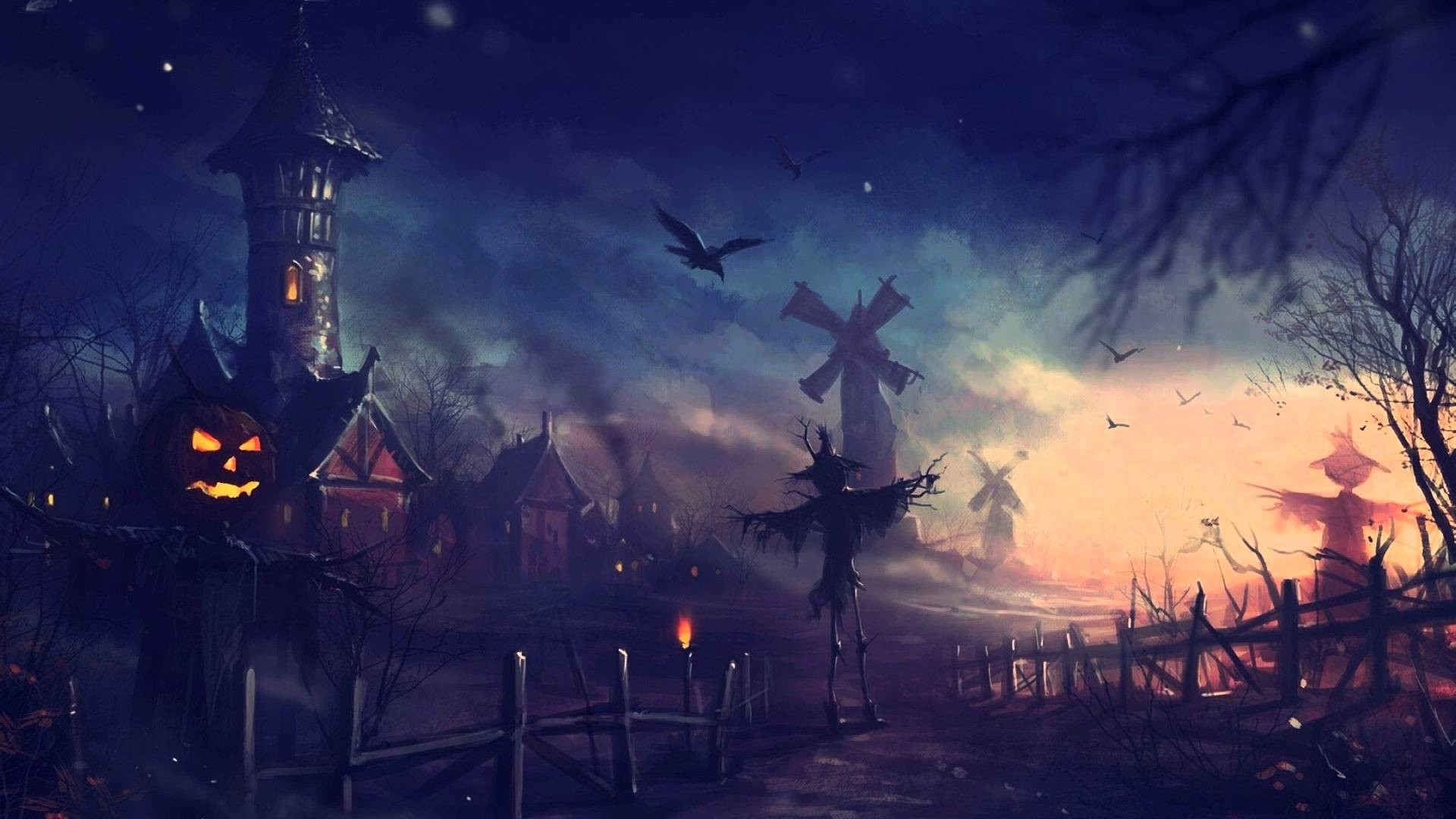 Pack 20 Imágenes HD Anime Halloween   Wallpapers ᴴᴰ