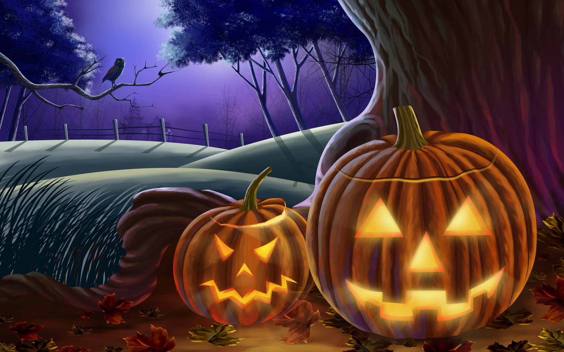 … Animated Halloween Wallpaper (12) …