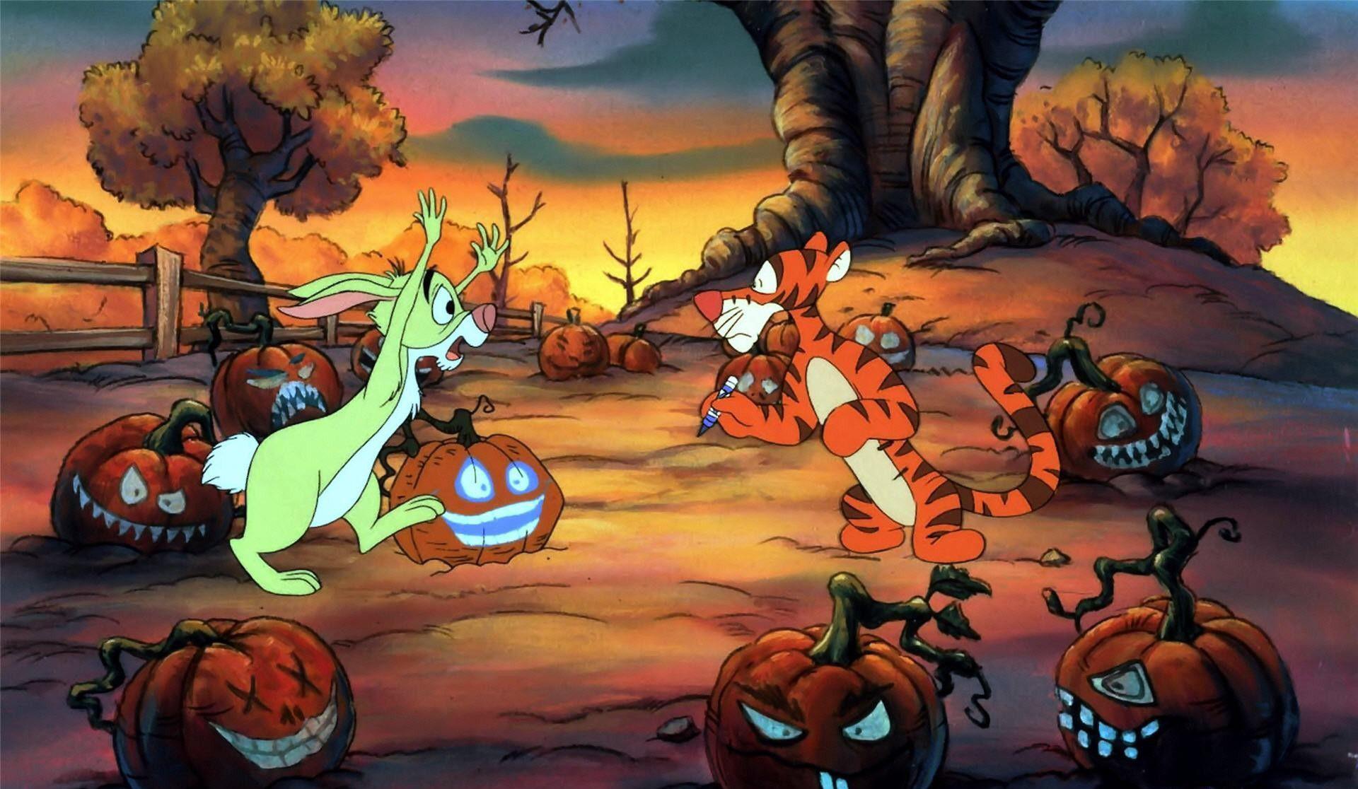 Disney Halloween Wallpapers HD Free Download.