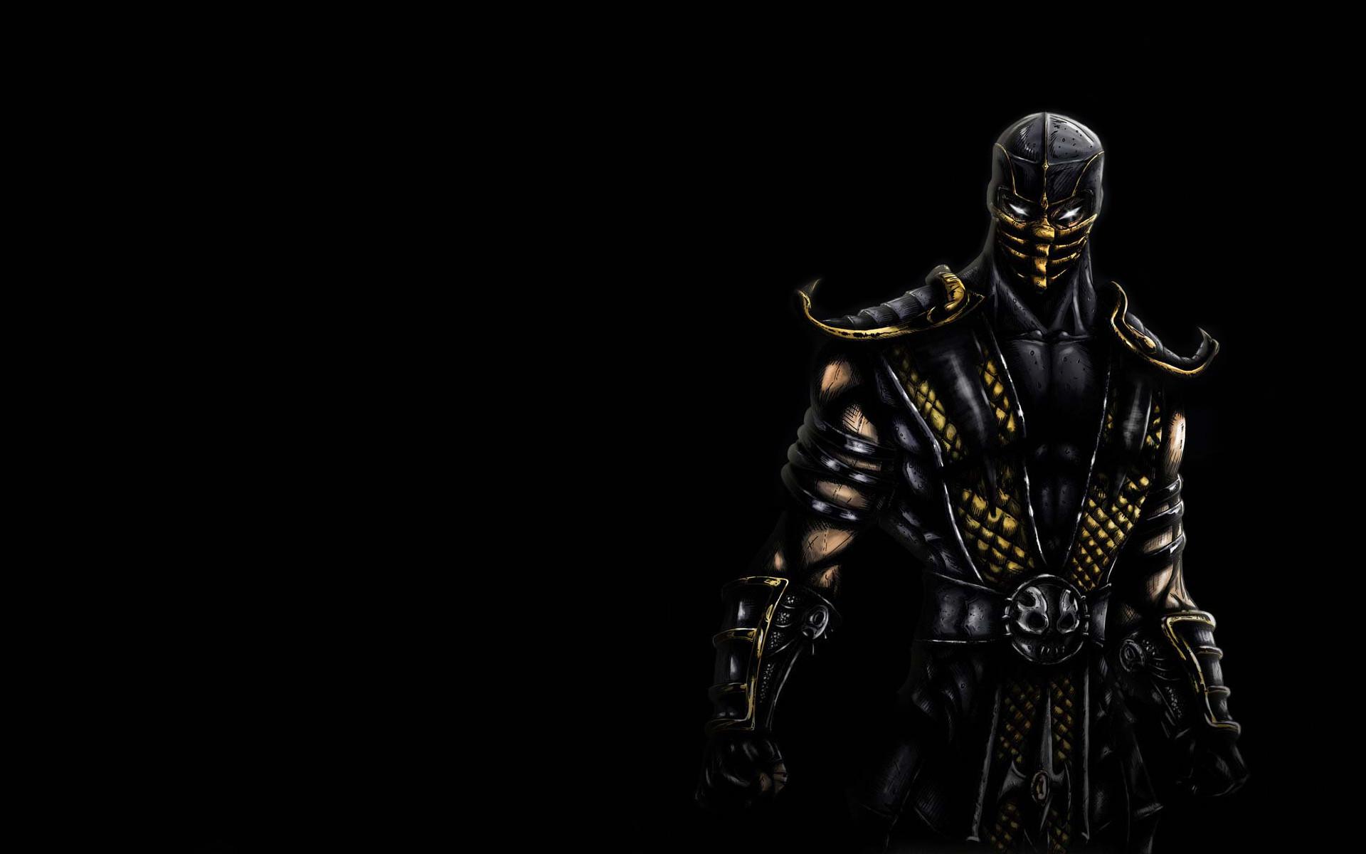 Mortal Kombat wallpaper Scorpion 3