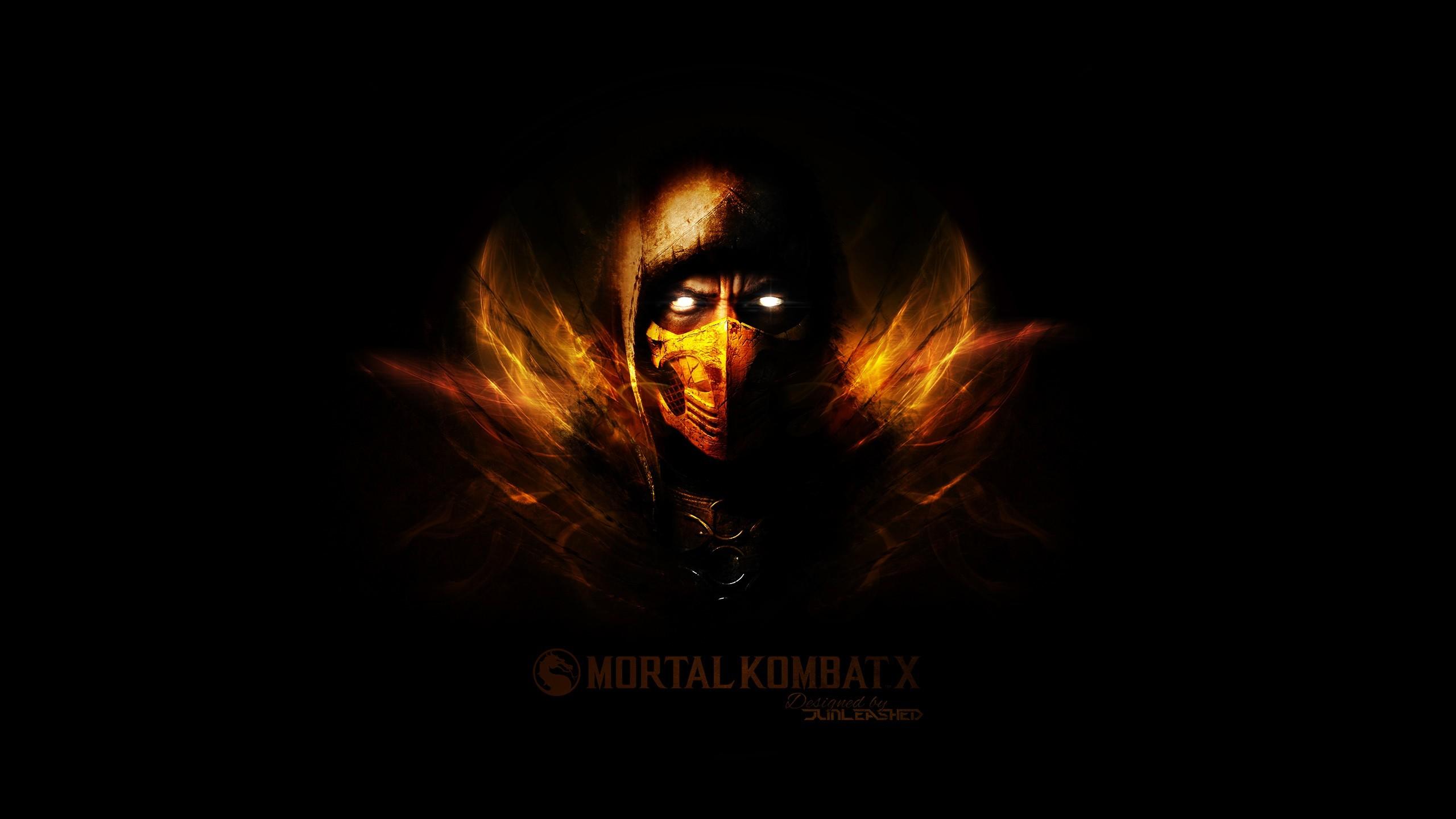 Mortal Kombat Scorpion Drawing HD desktop wallpaper High