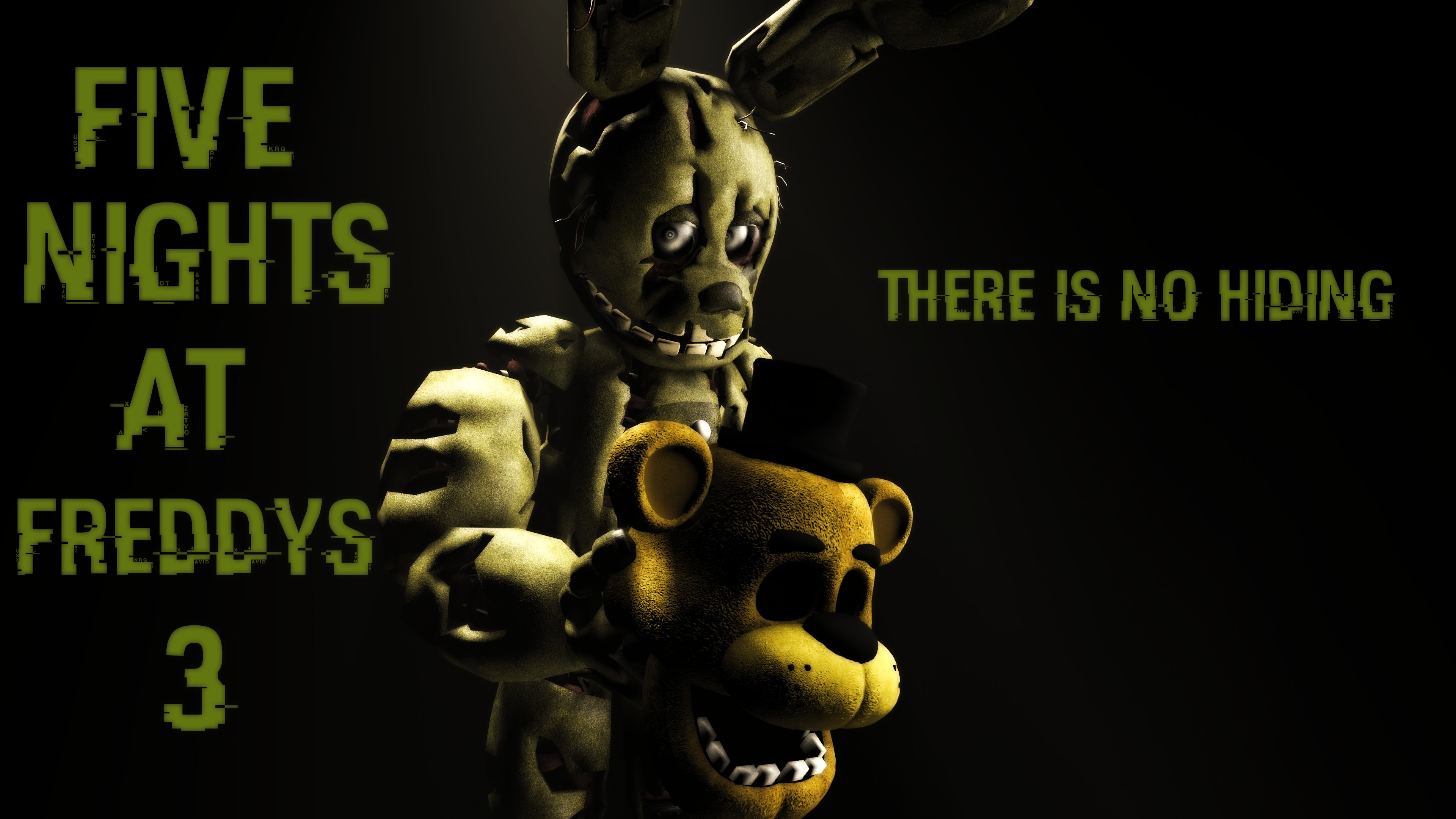 … Five Nights At Freddy's 3 Wallpaper by boatfullogoats