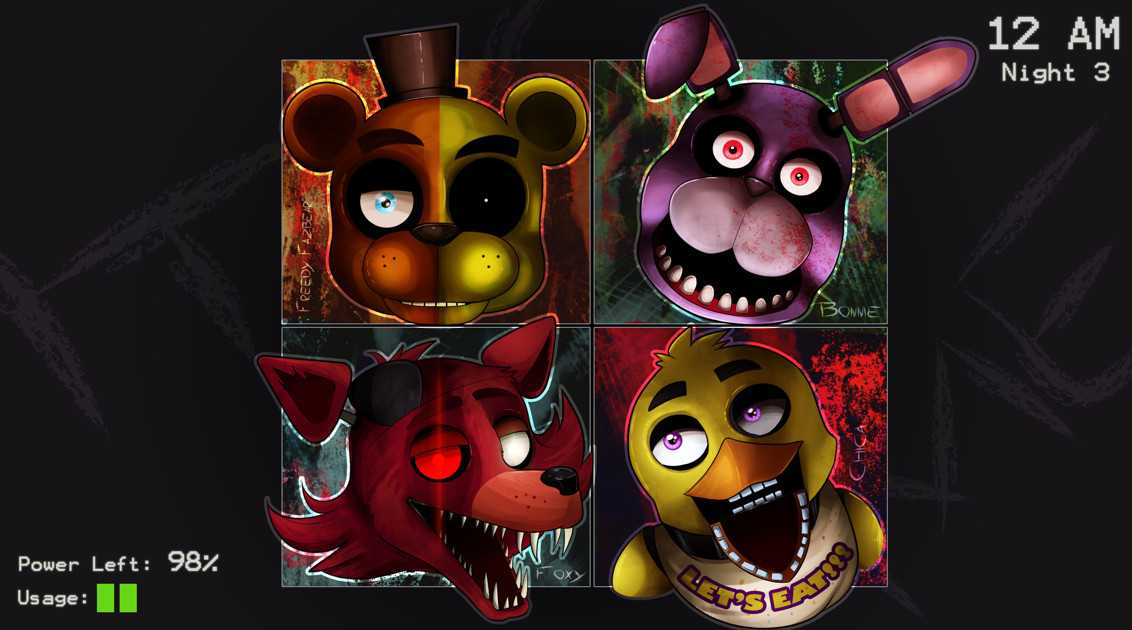 Five Night's at Freddy's by TheNornOnTheGo Five Night's at Freddy's by  TheNornOnTheGo