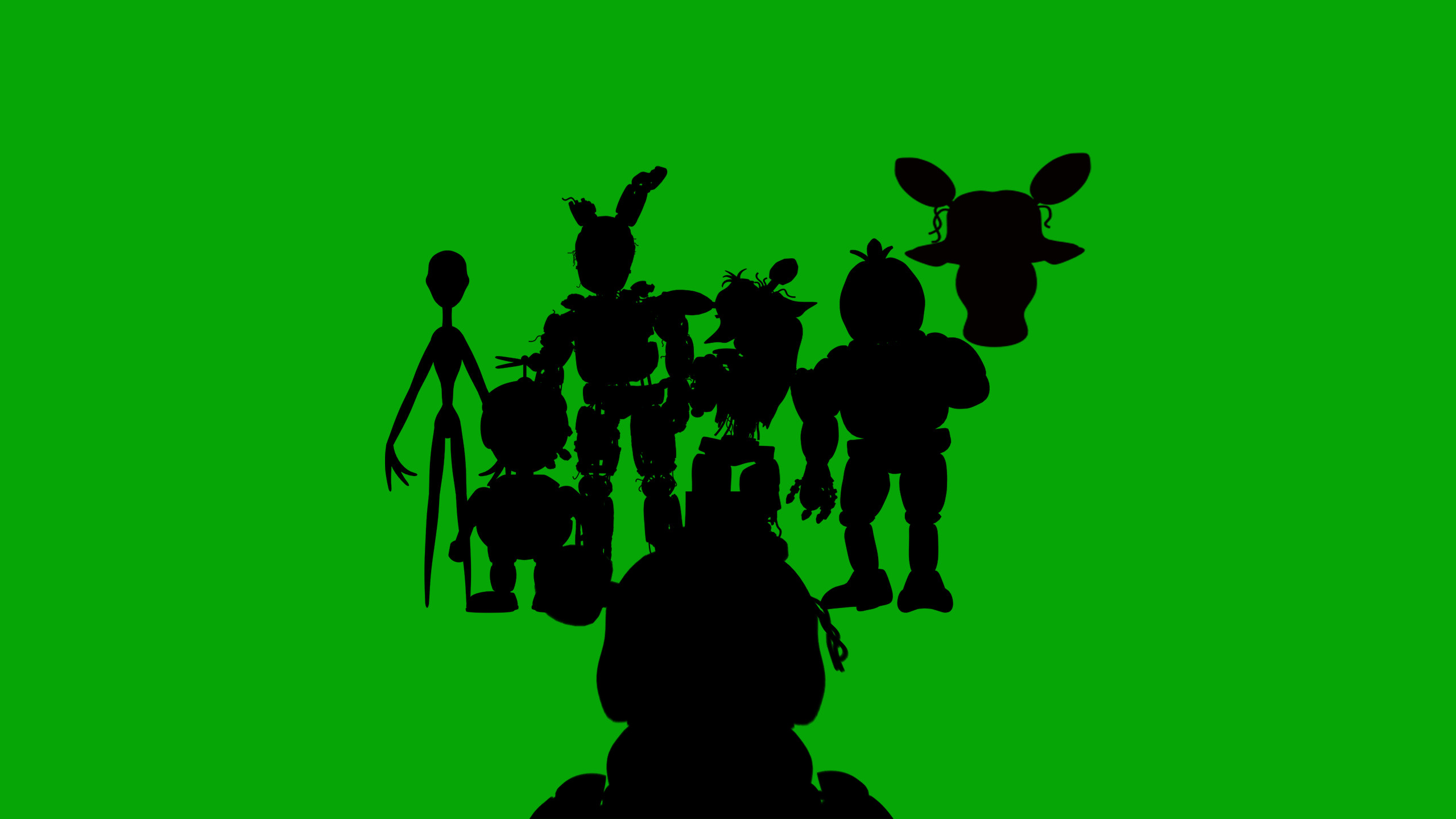 … Five nights at freddys 3 wallpaper (Green) by BlenderBLAST448