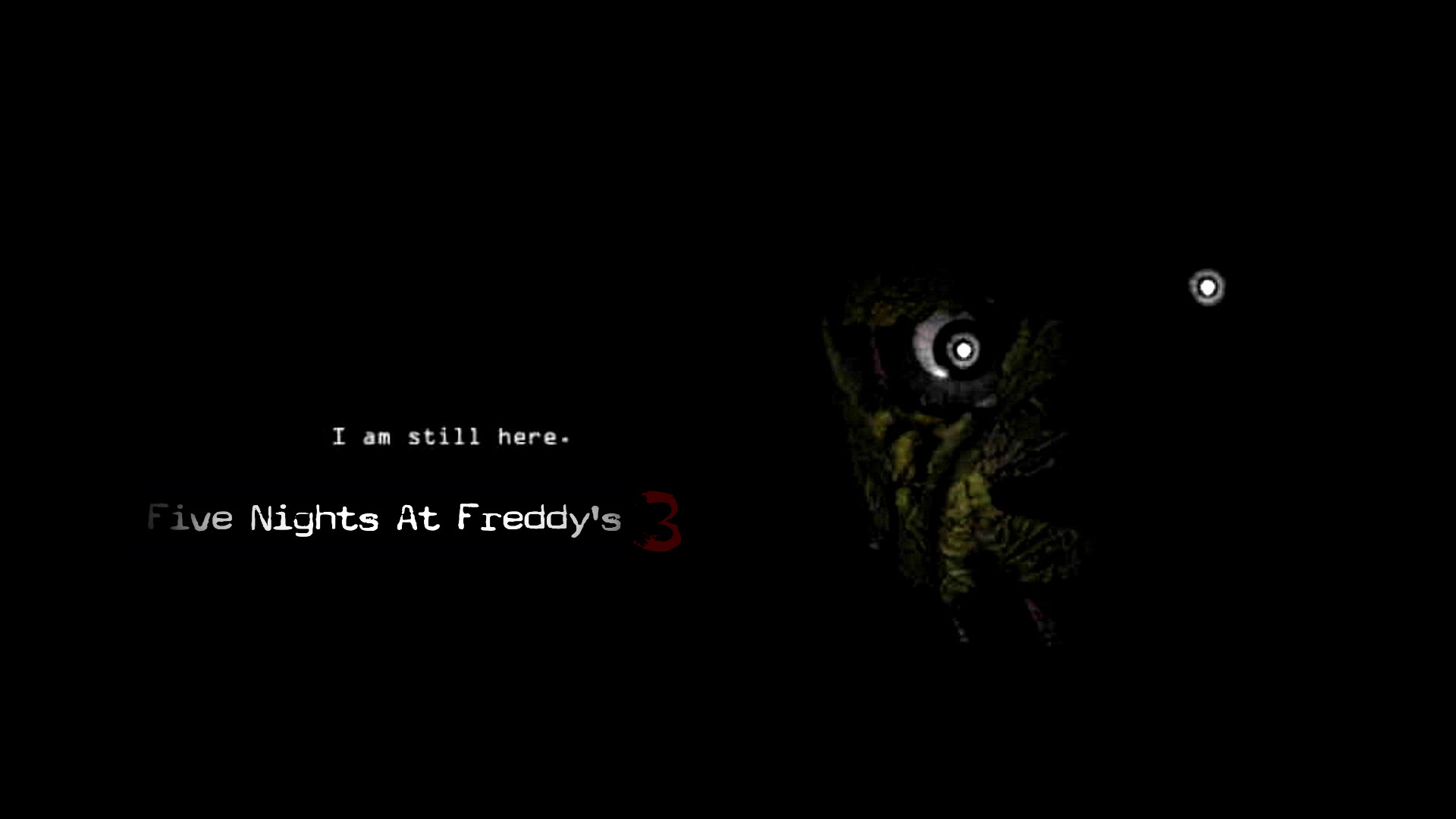 … Five Nights At Freddy's 3 Official Poster by ProfessorAdagio