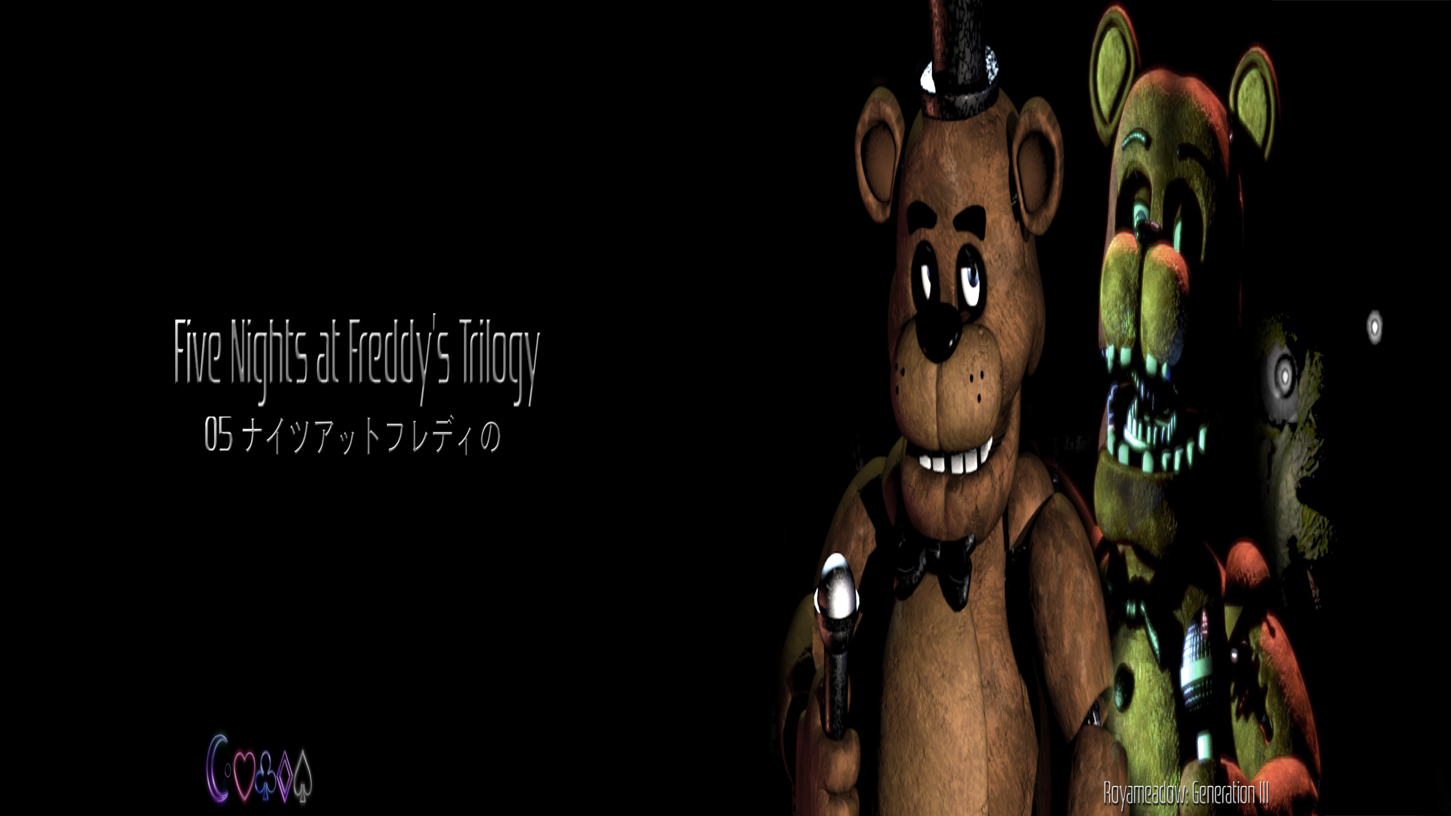 … Five Nights at Freddy's Trilogy: Video Wallpaper by Royameadow