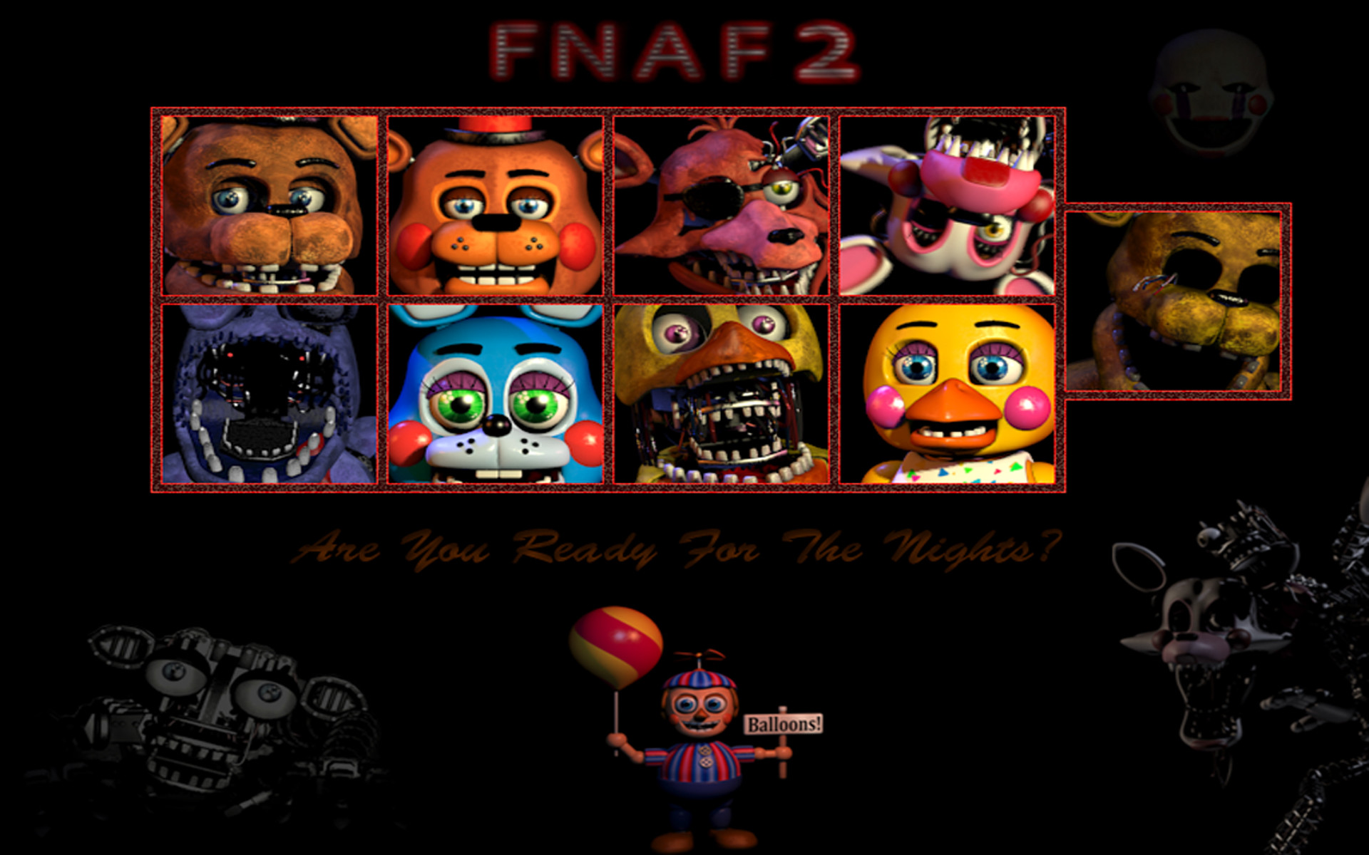 … Five Nights At Freddy's 2 by saraths07