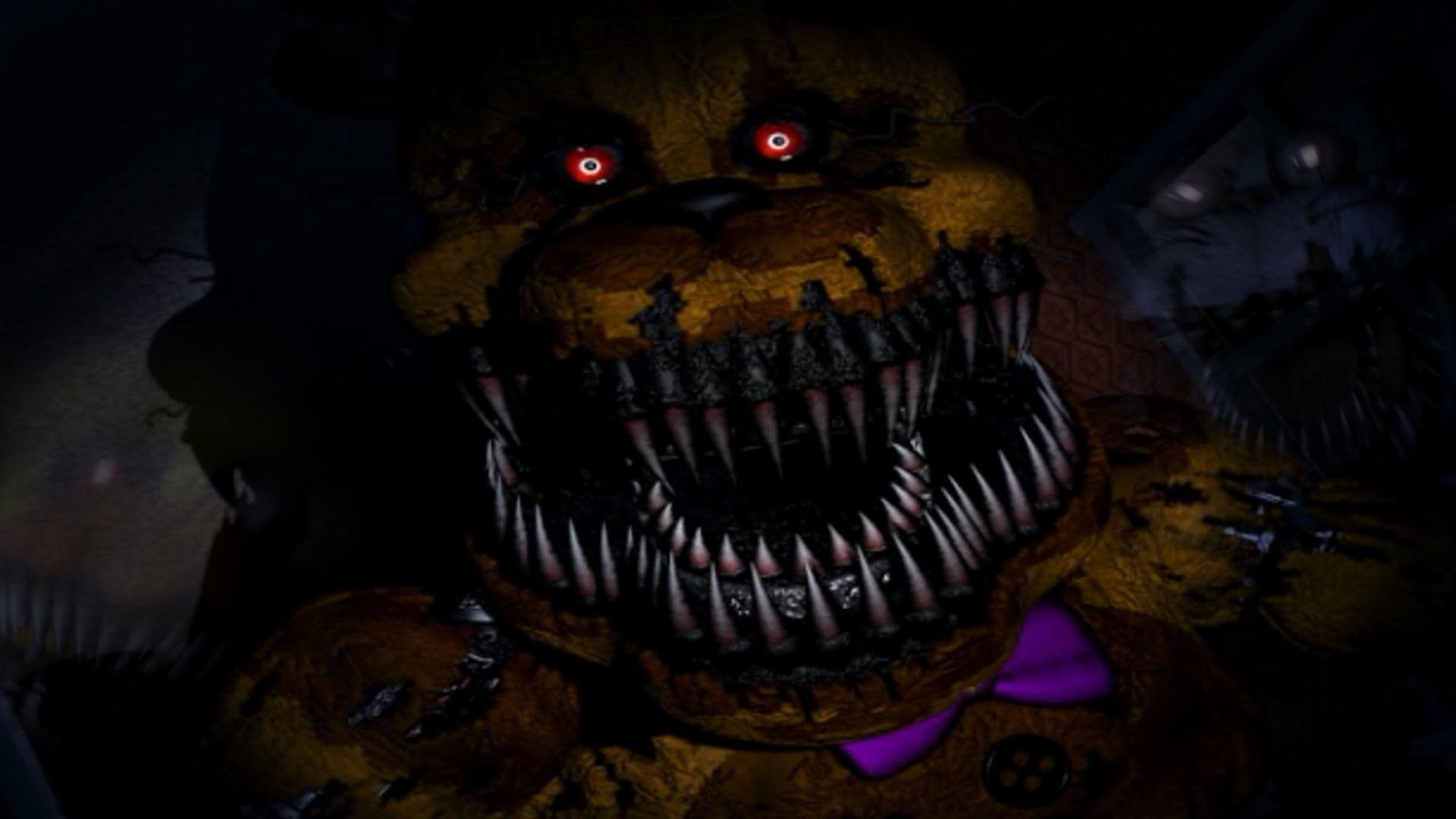 Five Nights at Freddy's 4 #5: GOLDEN FREDDY & The Bite of 87!