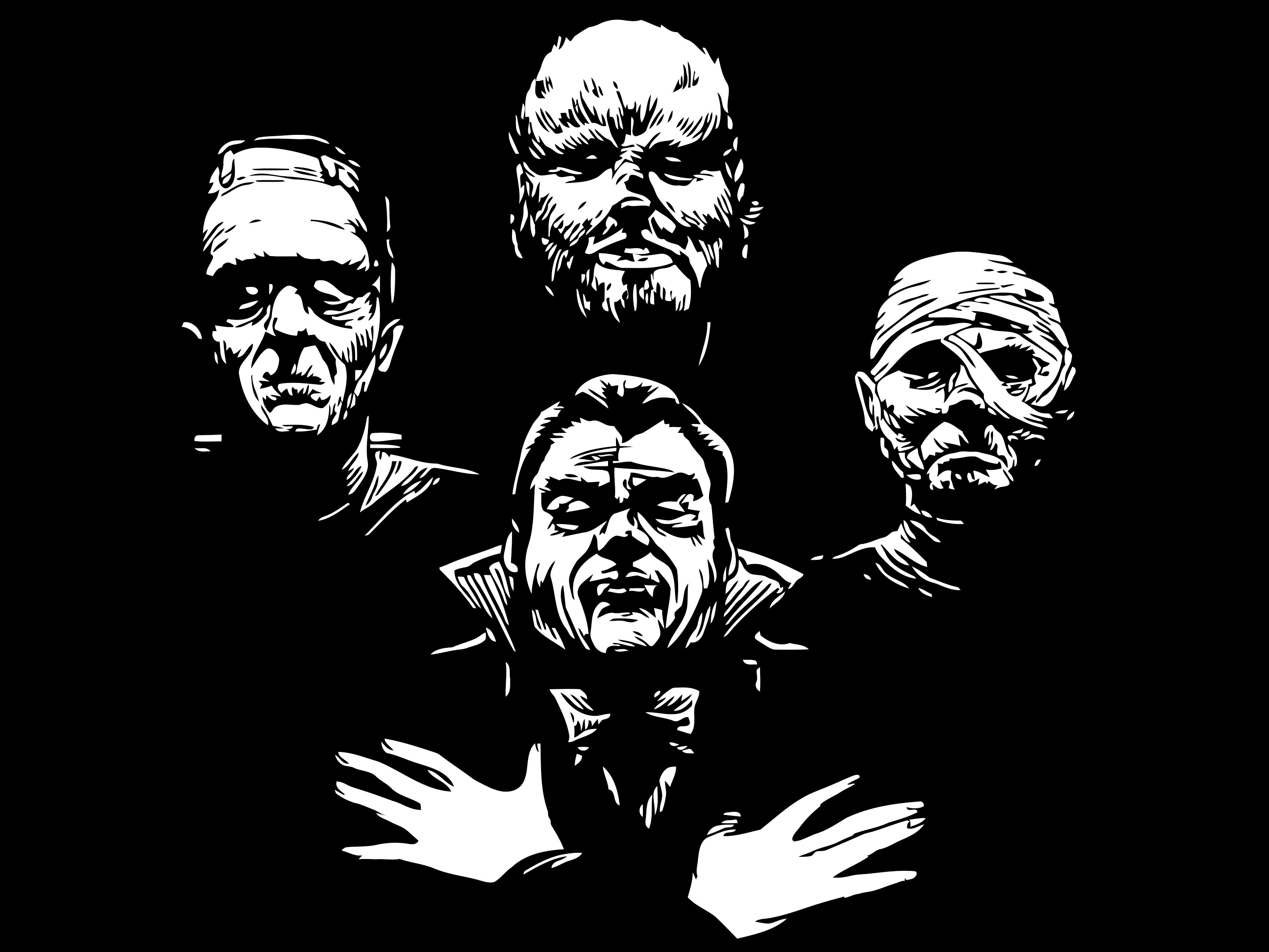 Classic Horror Monsters Wallpaper For – classic monsters.