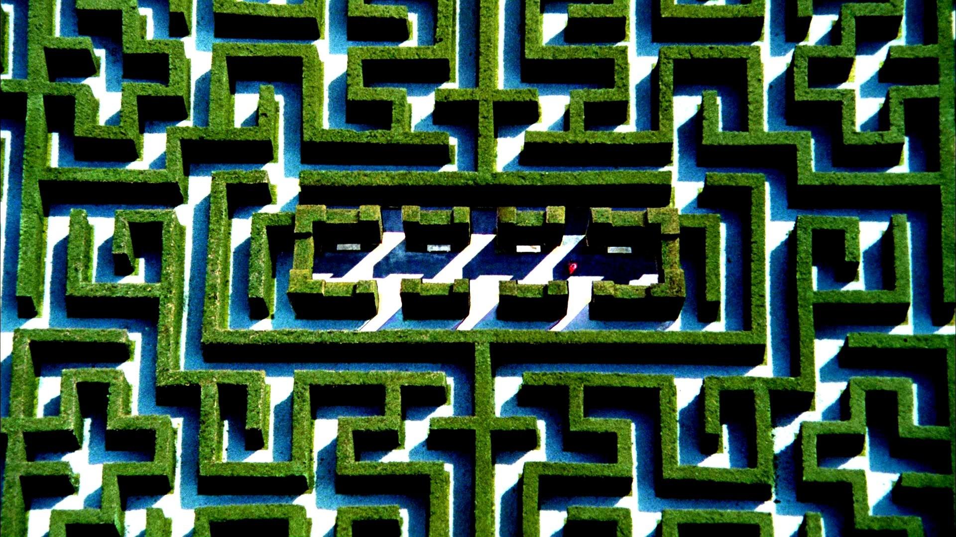 THE SHINING horror thriller dark movie film classic psychedelic maze  pattern garden wallpaper     253378   WallpaperUP