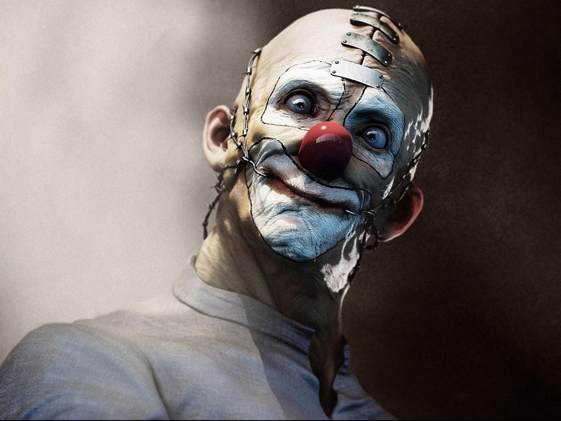 Dark horror evil clown art artwork f wallpaper | | 693581 .