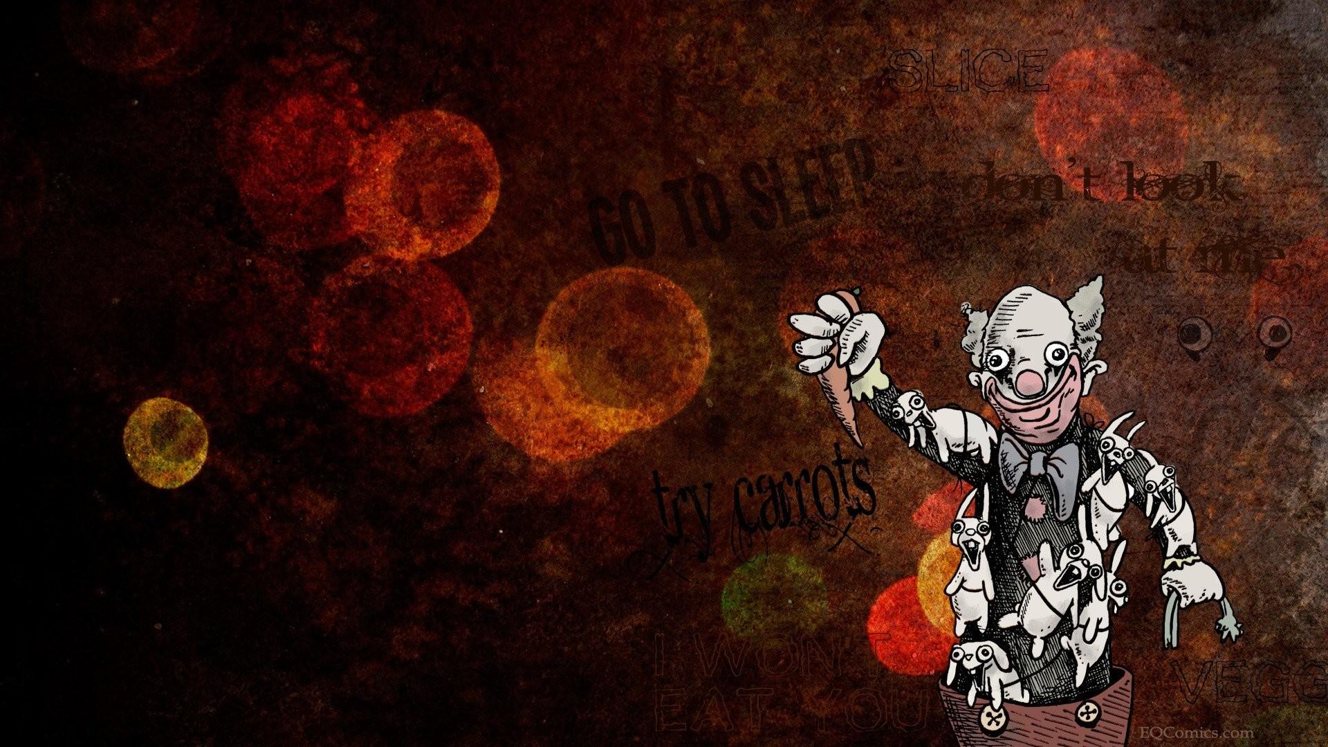 Clown 485489 · evil clown