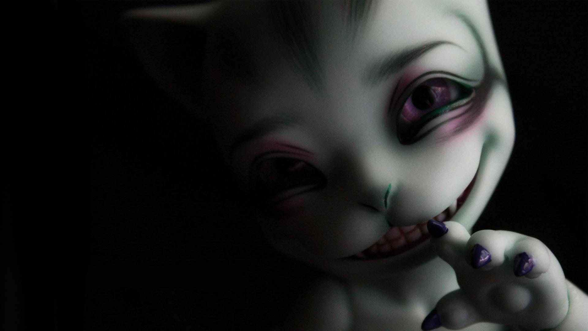 Evil Scary Desktop hd Screensaver. Dark Creepy Background
