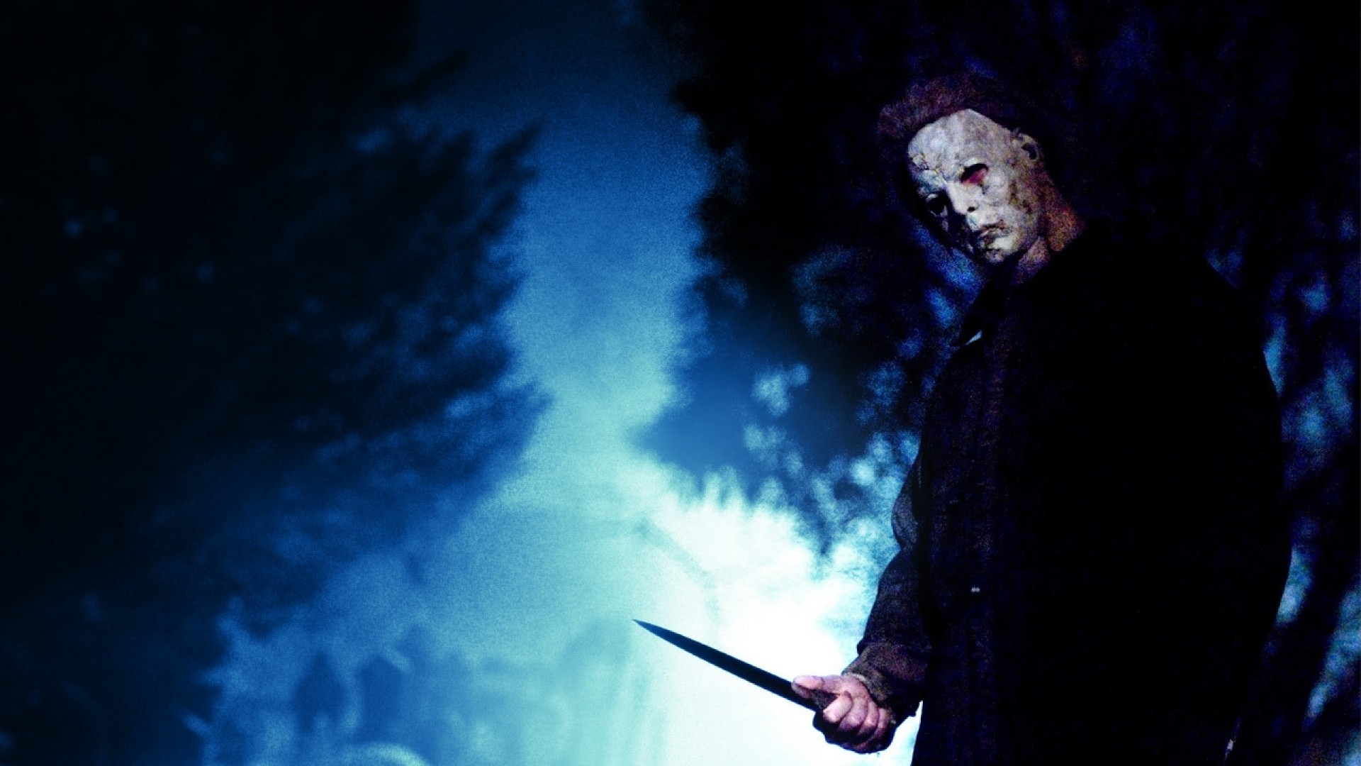 Preview wallpaper michael myers, maniac, killer, knife, mask, fear, horror