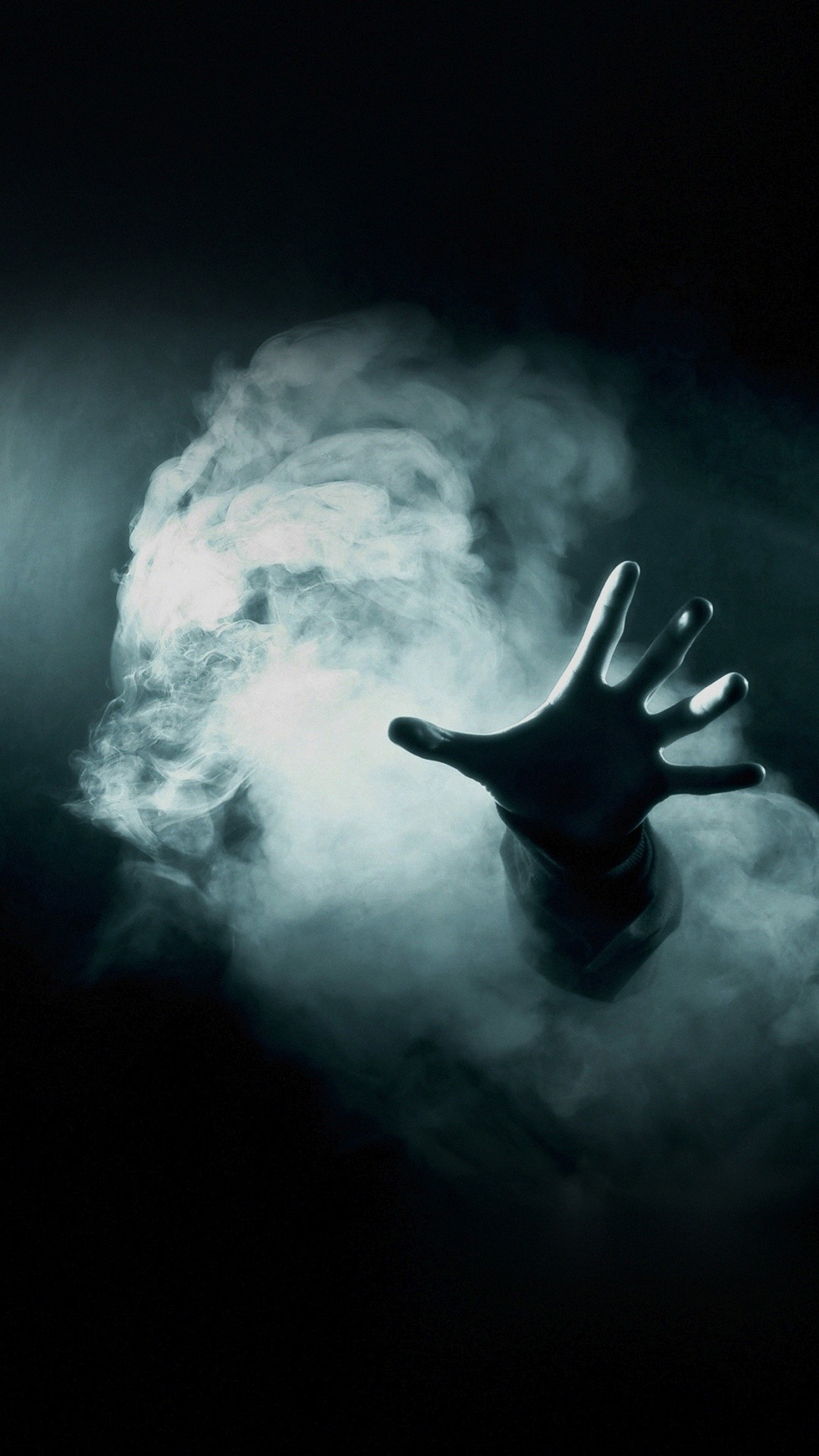 Hand Reaching Out From Smoke Horror iPhone 6+ HD Wallpaper …