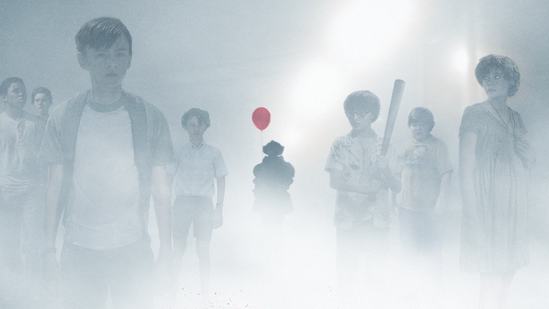 """… Pennywise The Clown Haunts The Losers Club in New Poster For IT – """"You'"""