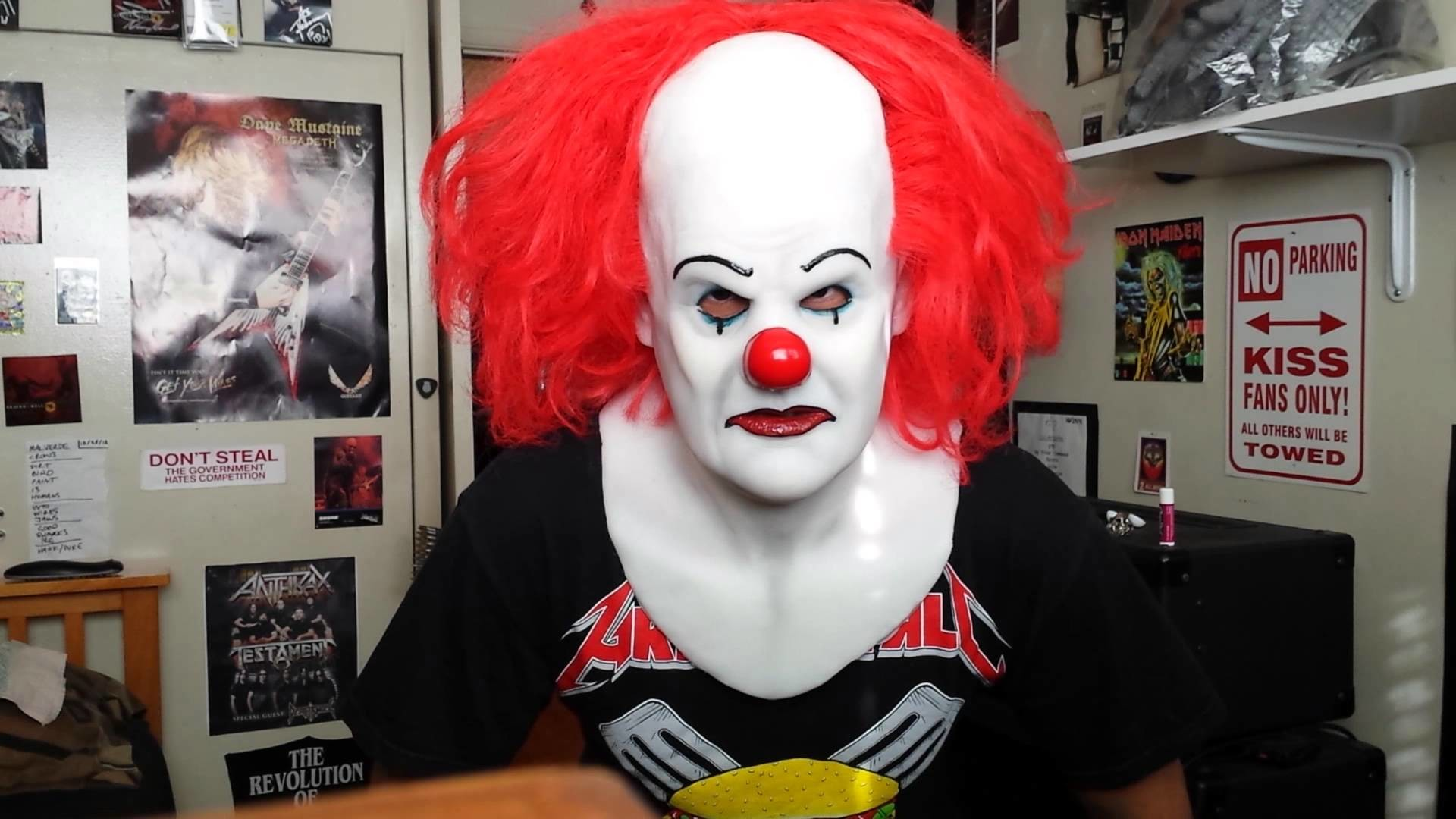 """""""IT"""" Pennywise Silicone mask"""