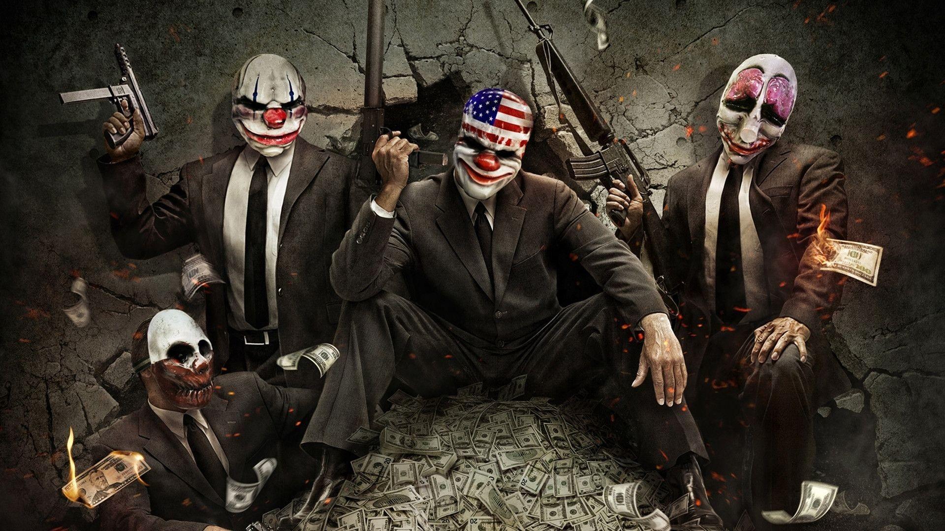 Killer Clown Wallpaper Free Download | HD Wallpapers | Pinterest | Evil  clowns, Wallpaper and Art google