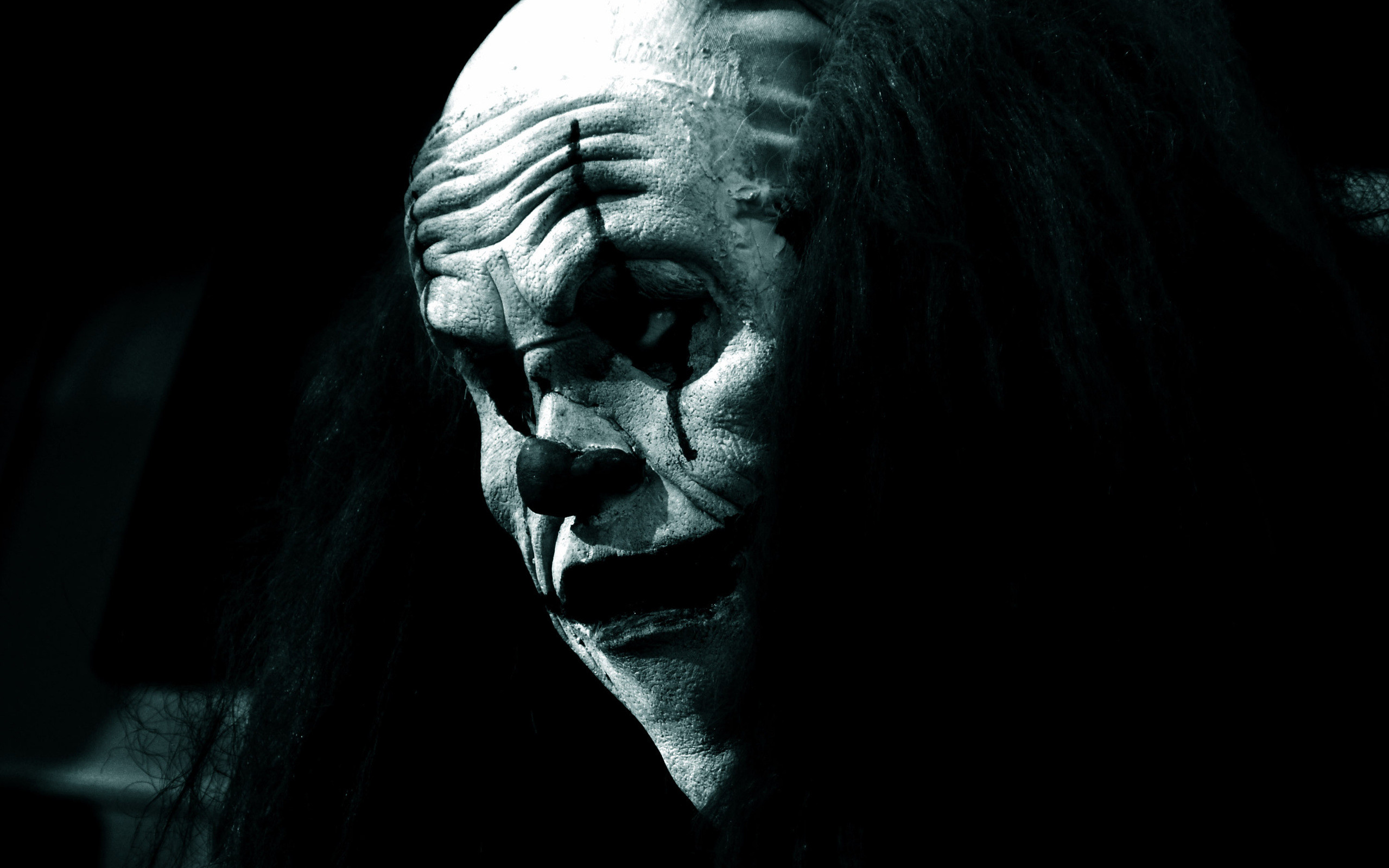 Scary clown wallpaper gothic. Wallpapers 3d for desktop, 3d pictures