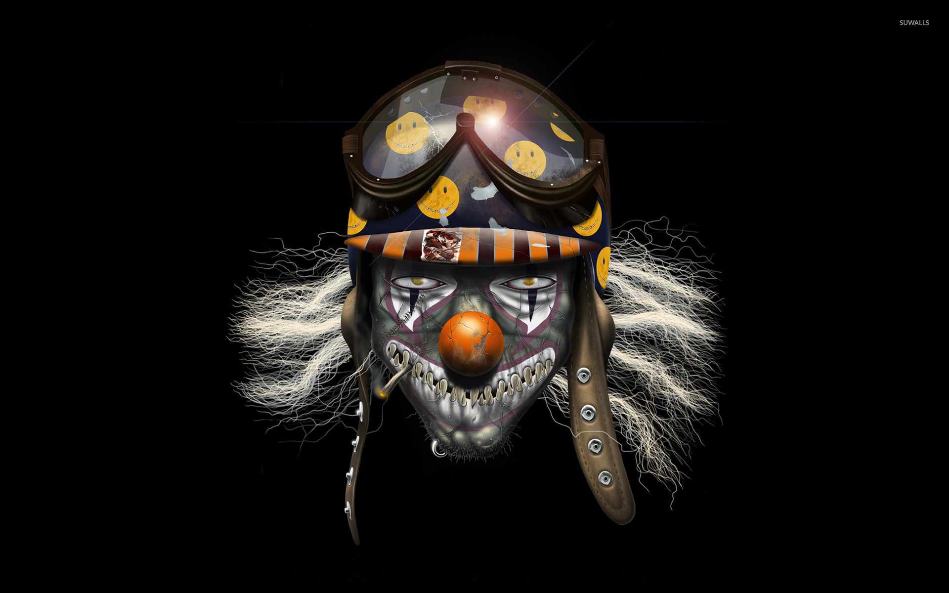 Related image with Scary Clown Wallpapers 25601600 Wallpaper