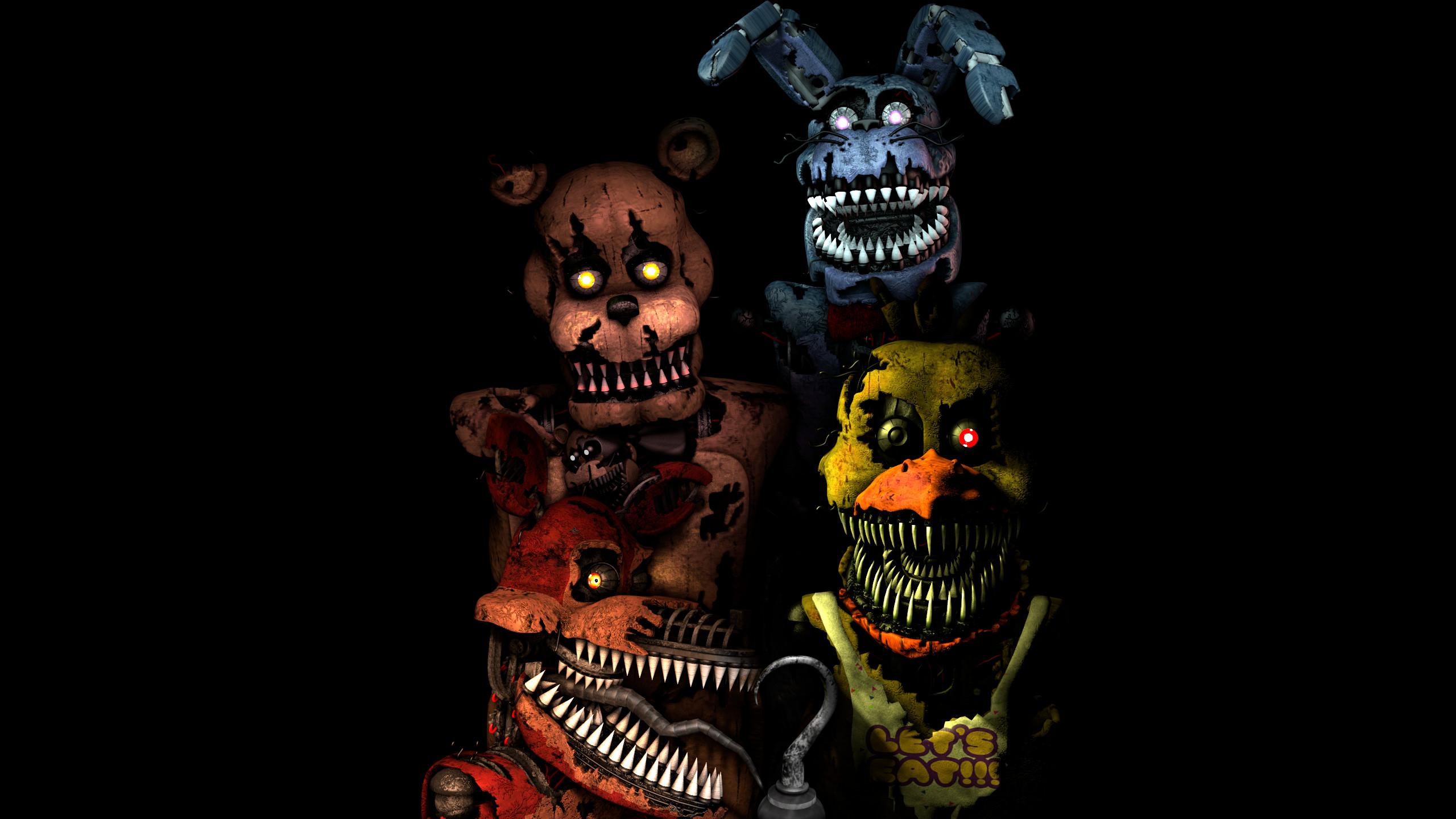 … FNaF] Five Nights at Freddy's 4 Wallpaper by Endymush