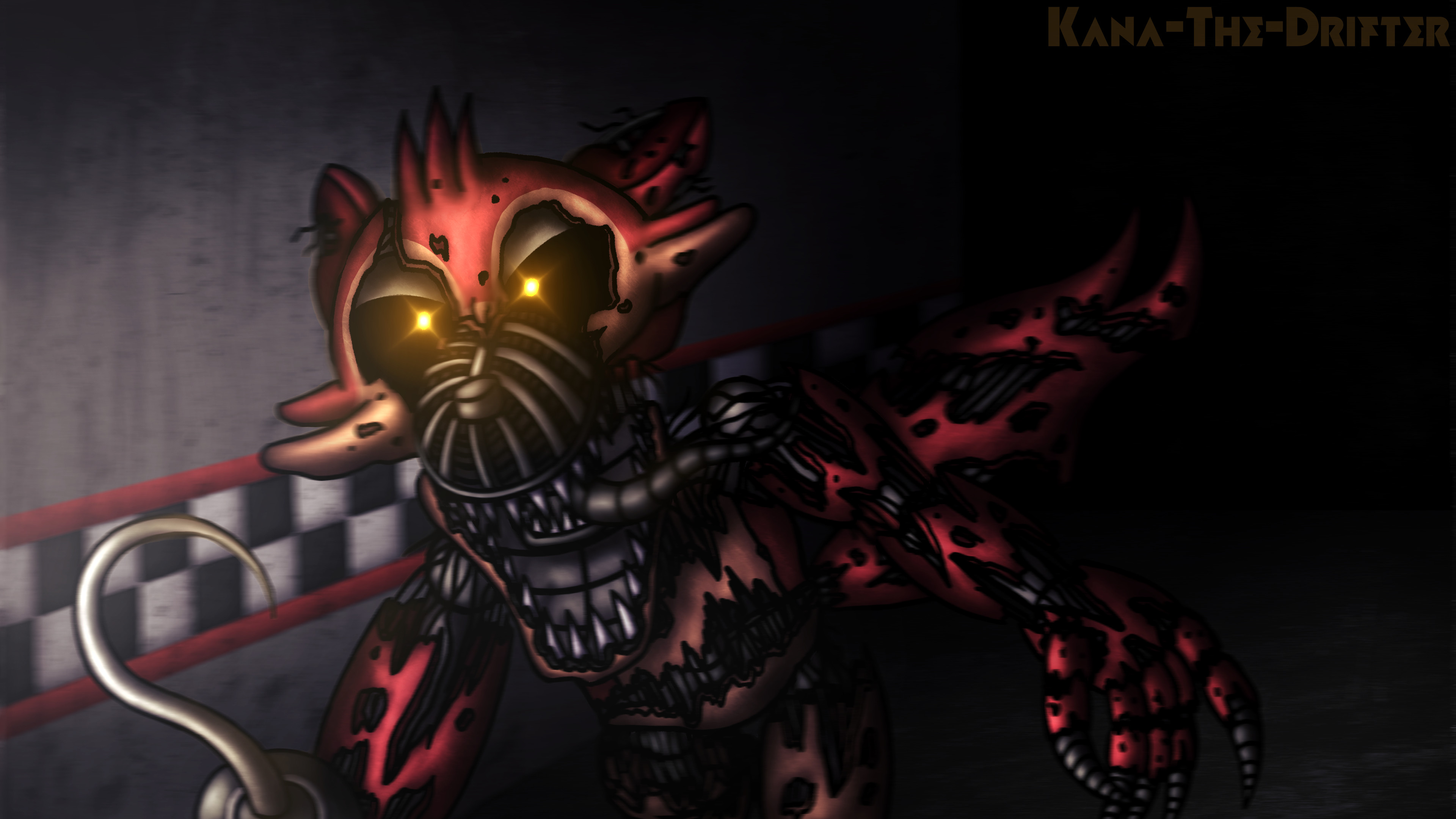 … Don't Even Try To Escape (4K FnaF Wallpaper) by Kana-The